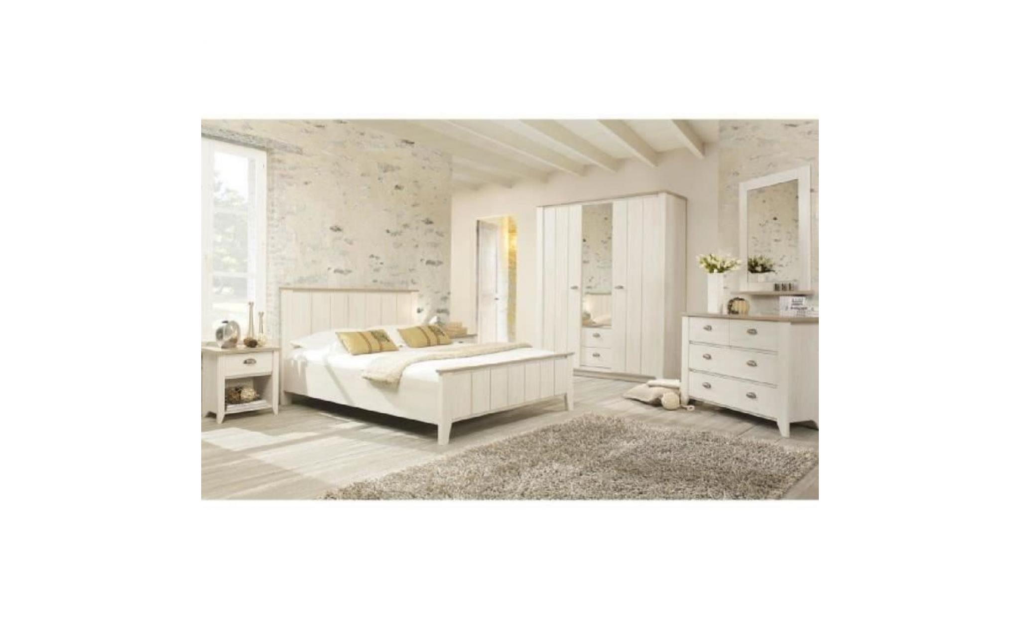 Chambre Adulte Complete 140 200 Helene L 149 X L 209 X H 99 Cm