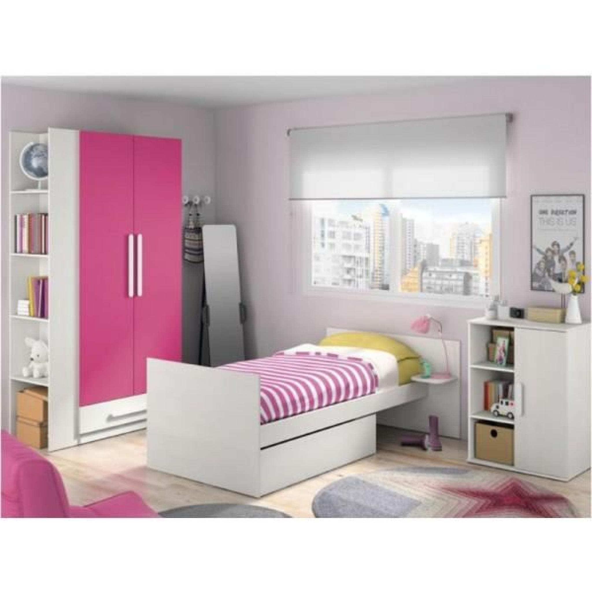 chambre fille complete pas cher excellent bebe murale chambre applique with chambre fille. Black Bedroom Furniture Sets. Home Design Ideas