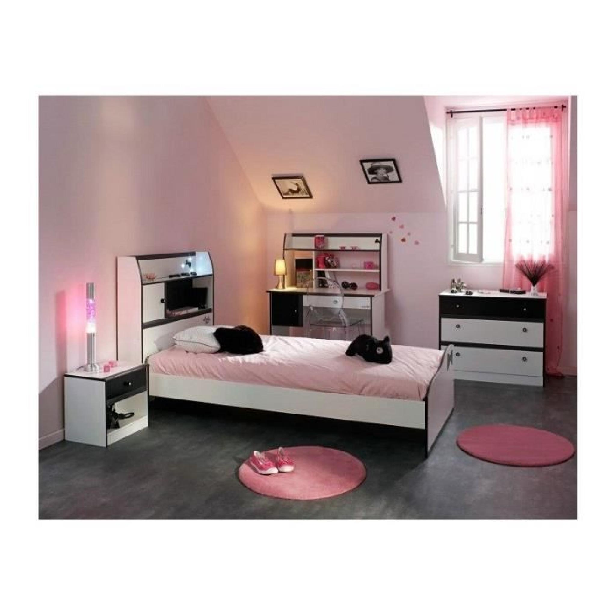 Chambre fille pas cher for Chambre a coucher blanche pas cher