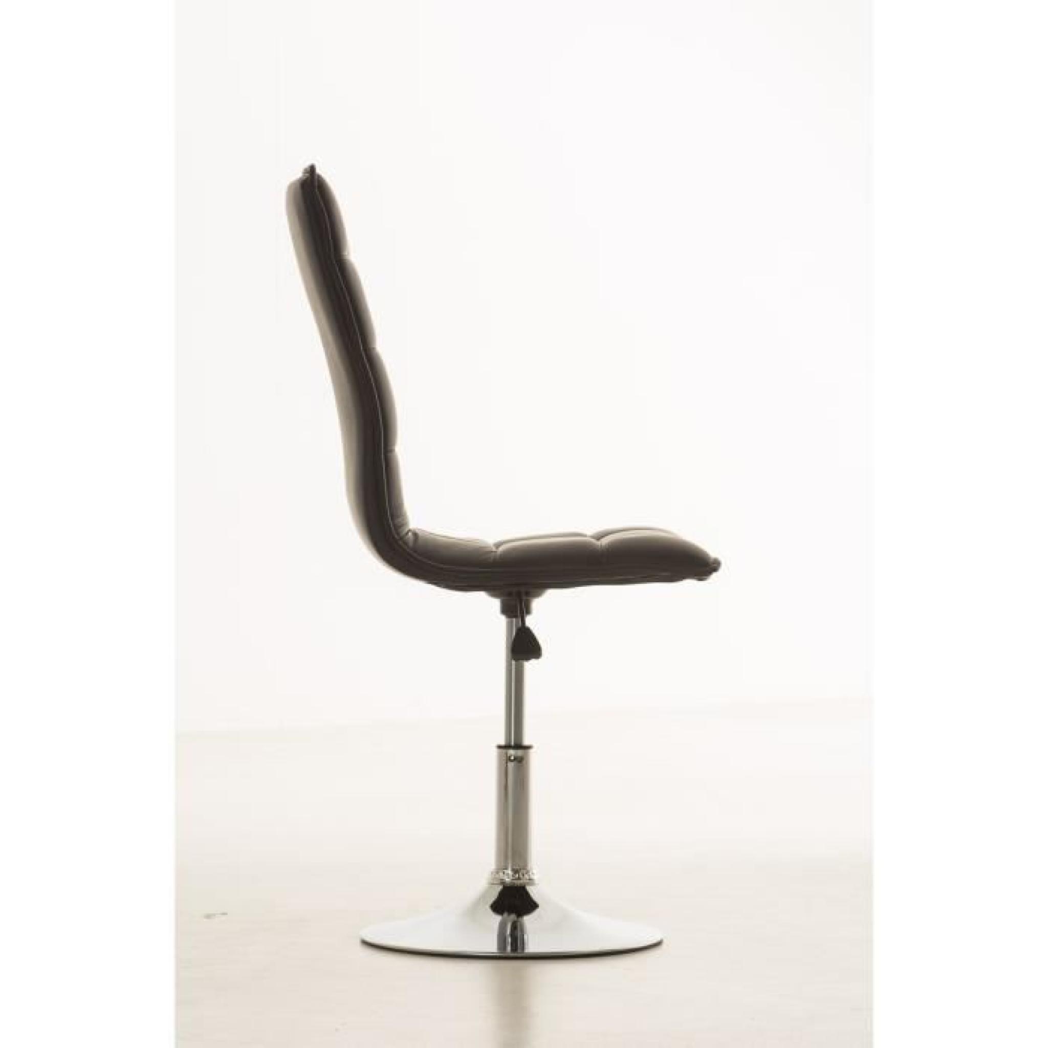 Clp chaise de salle à manger réglable en hauteur peking, avec ...