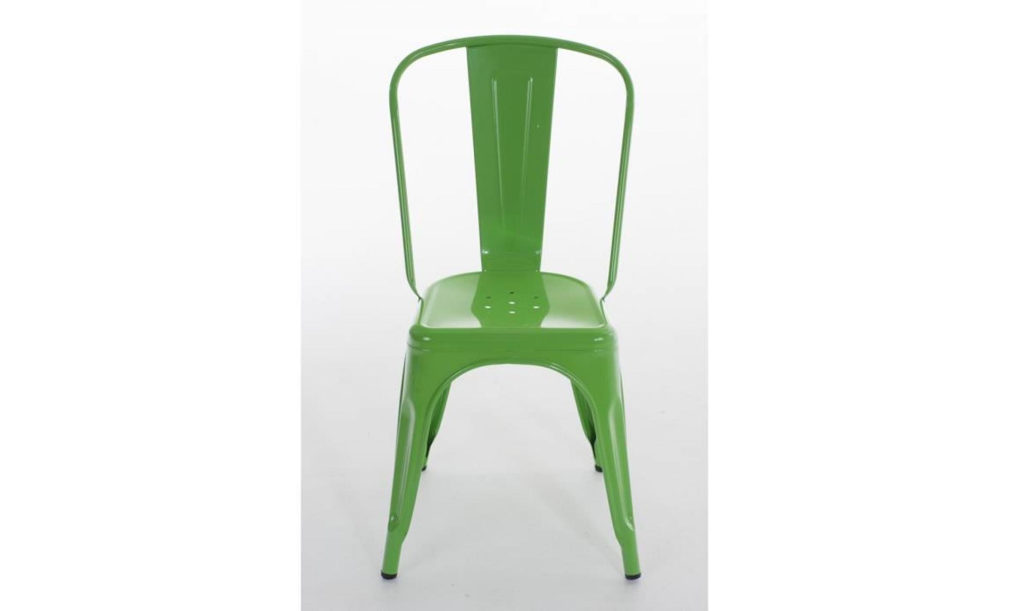 clp chaise empilable en m tal benedikt hauteur de l assise 48 cm classique robuste. Black Bedroom Furniture Sets. Home Design Ideas