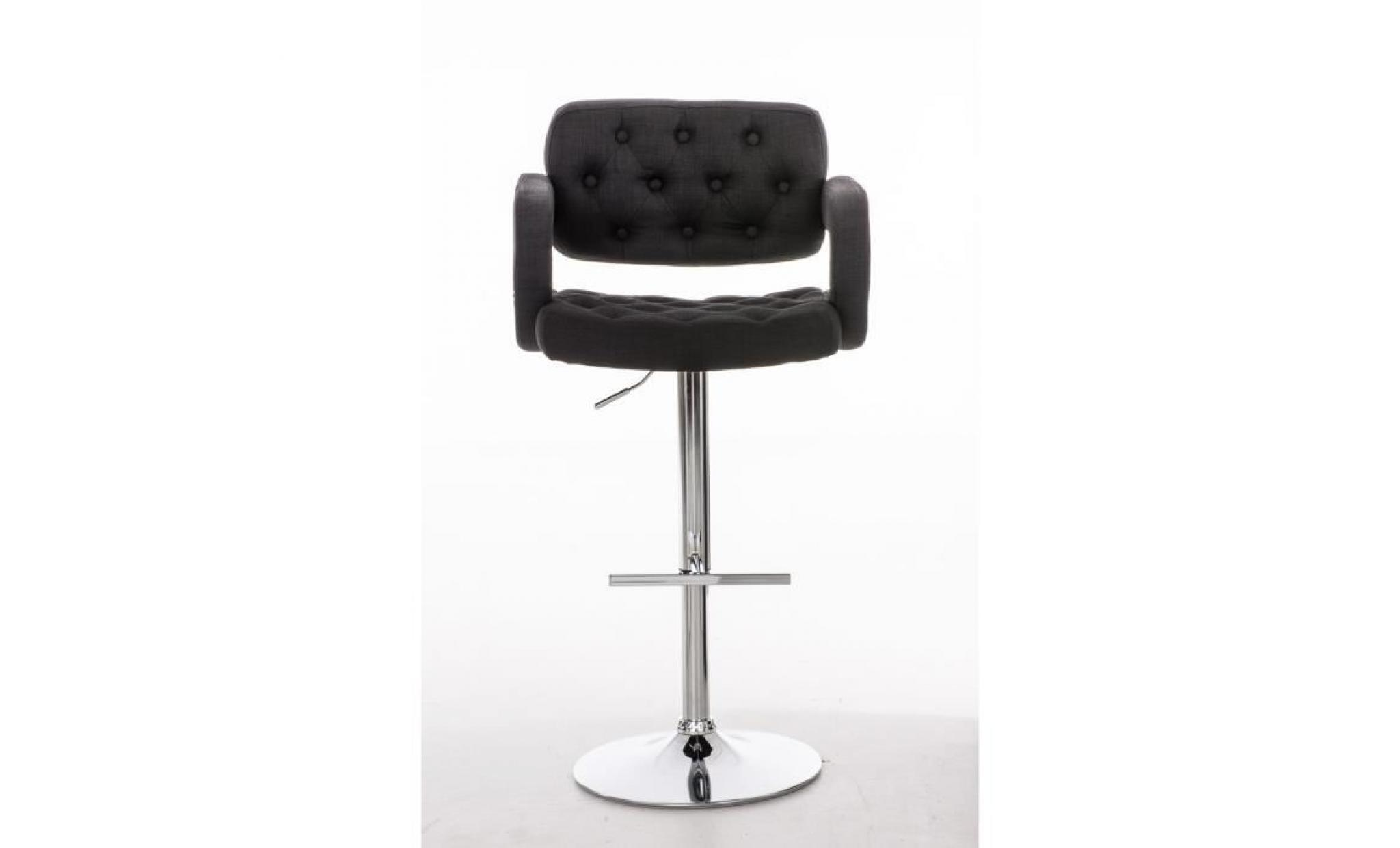clp tabouret de bar de design dublin avec rev tement en tissu confortable hauteur assise. Black Bedroom Furniture Sets. Home Design Ideas