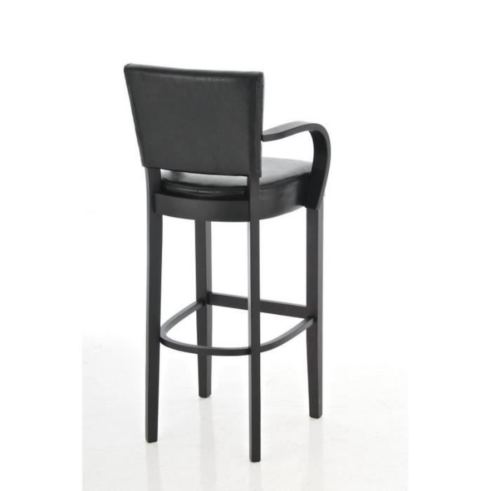 clp tabouret de bar ethel en bois avec accoudoirs 13. Black Bedroom Furniture Sets. Home Design Ideas