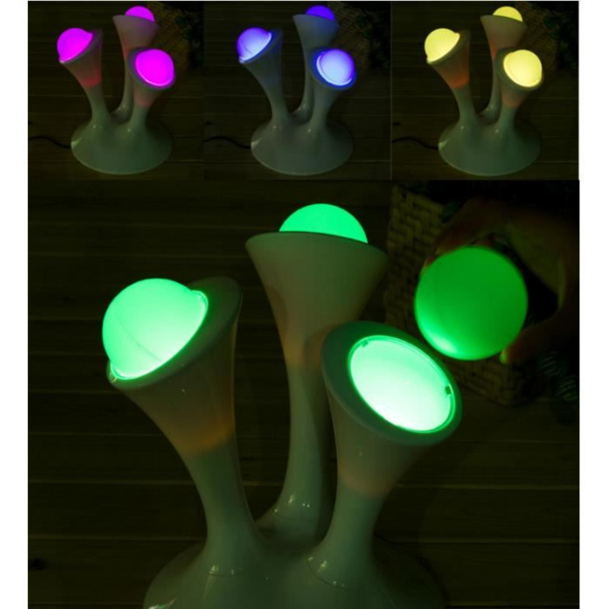 Nuit Allaitement Magique Colorful De Night Avatar Led Champignon Lumière Variables Lampe Light 9IWD2EH