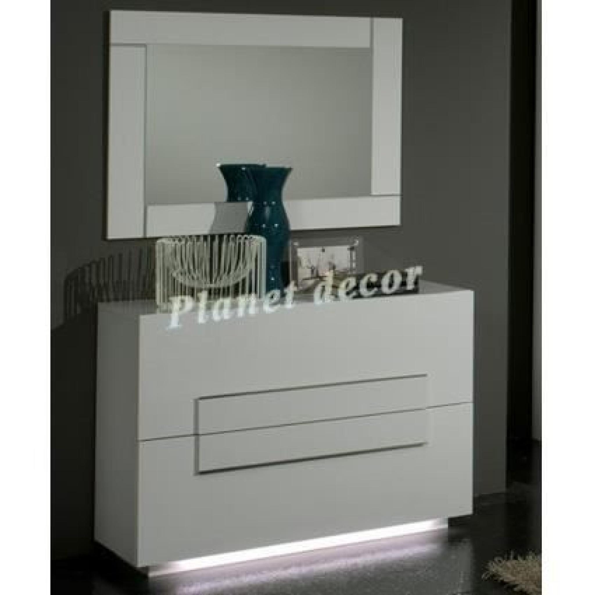 Commode chambre adulte CITY (sans miroir)
