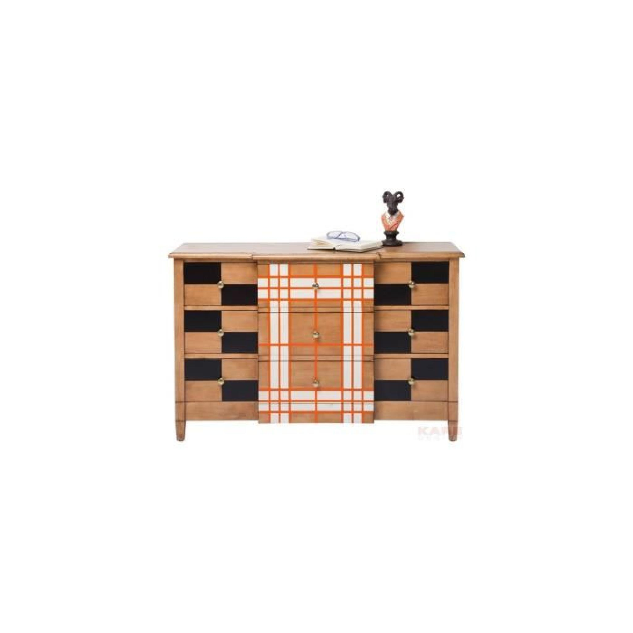 Commode Checker 9 Tiroirs Kare Design