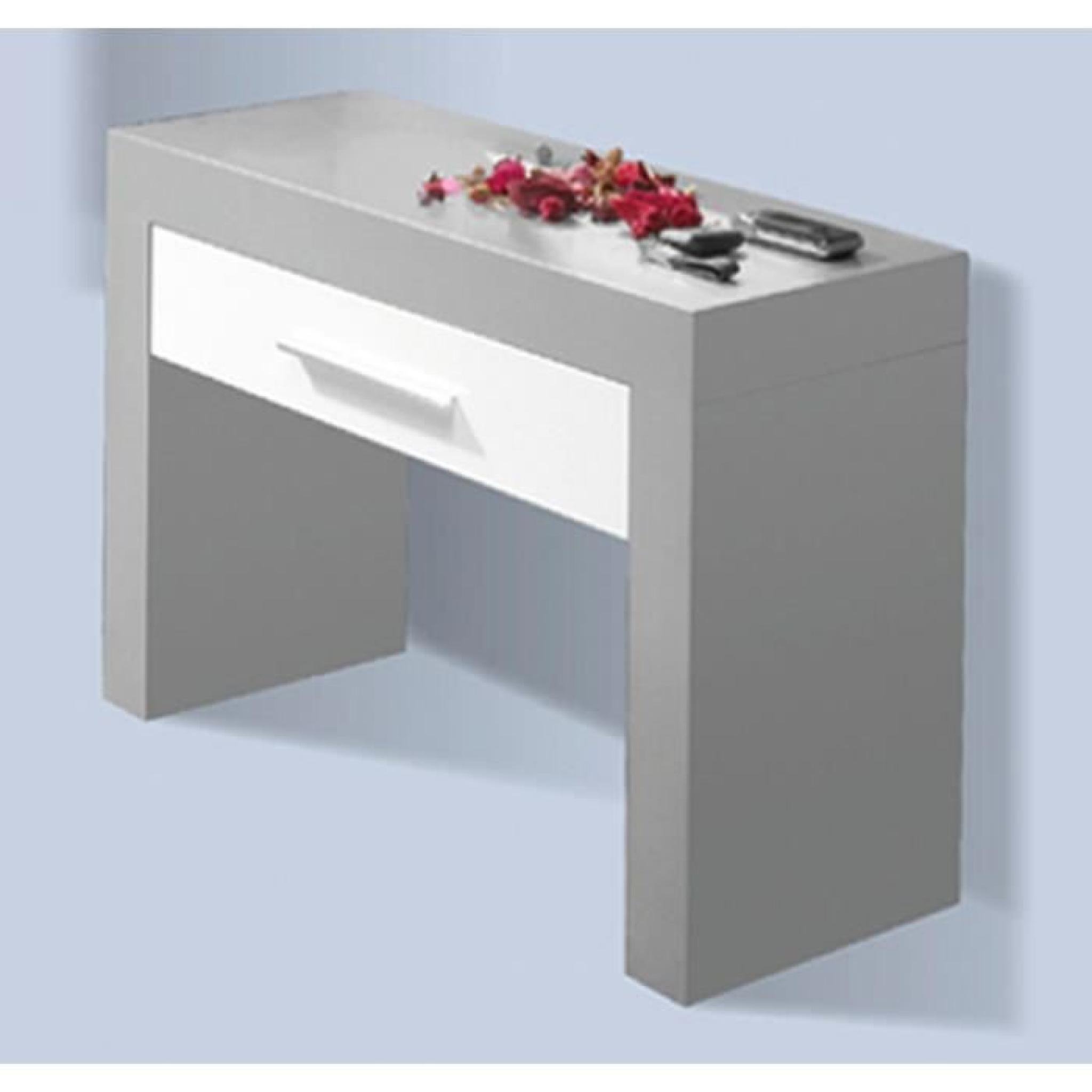 Console d'Entrée avec 1 tiroir en MDF, 47 x 70 x 27 cm