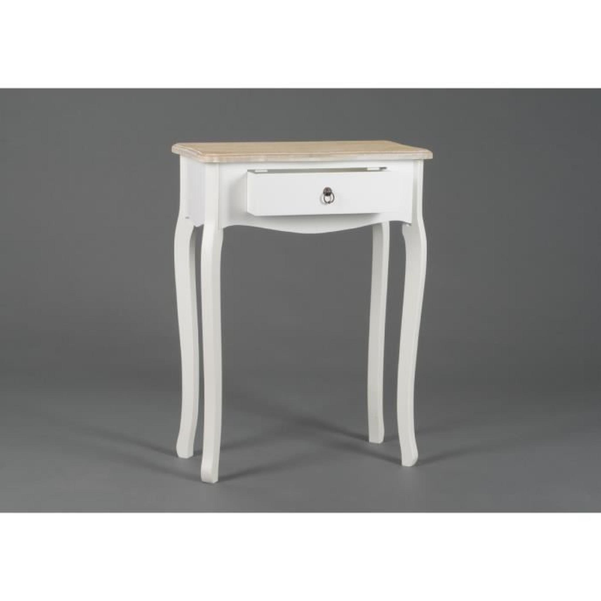 console entr e en bois lise achat vente console meuble pas cher couleur et. Black Bedroom Furniture Sets. Home Design Ideas