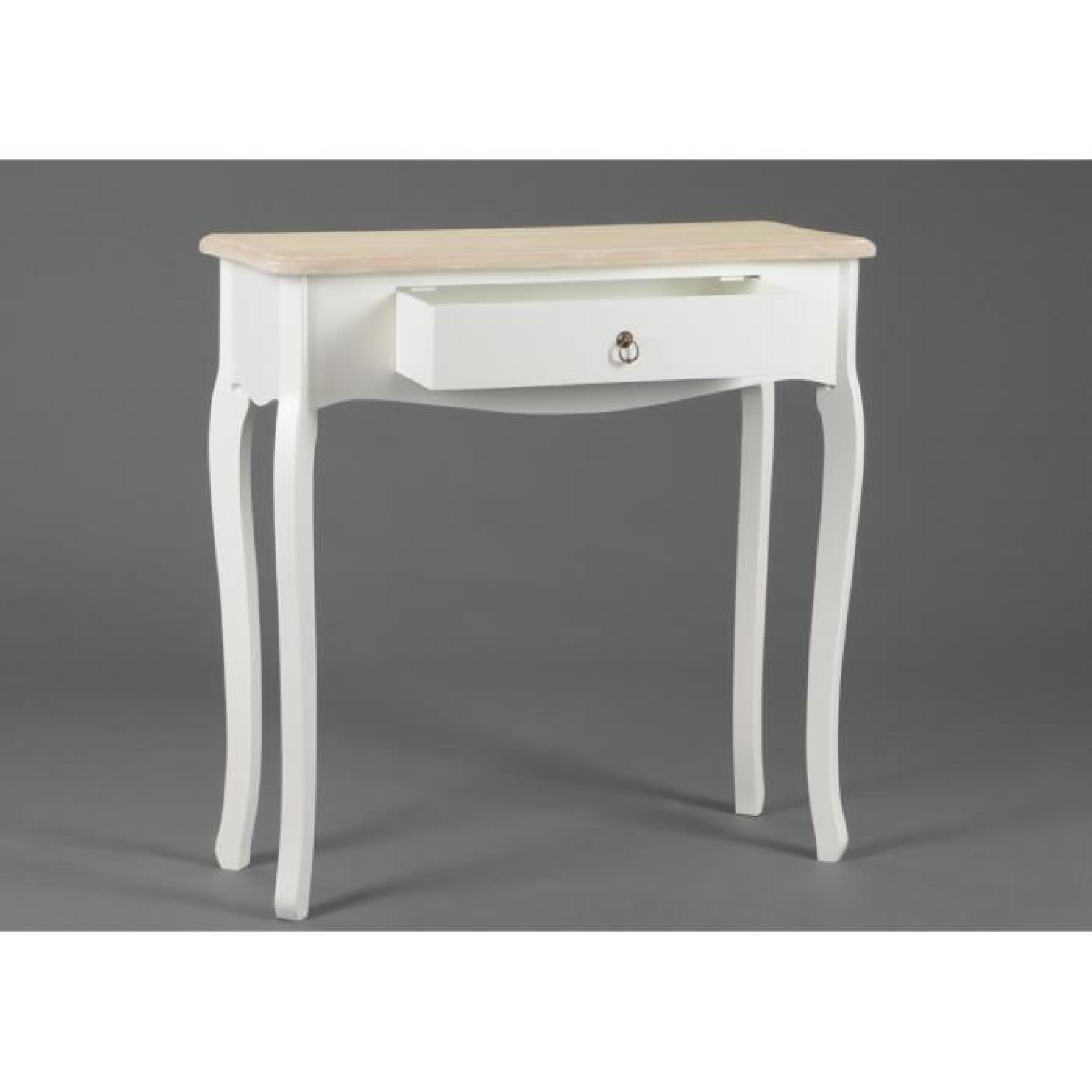 console entr e en bois lise taille 2 achat vente console meuble pas cher couleur et. Black Bedroom Furniture Sets. Home Design Ideas