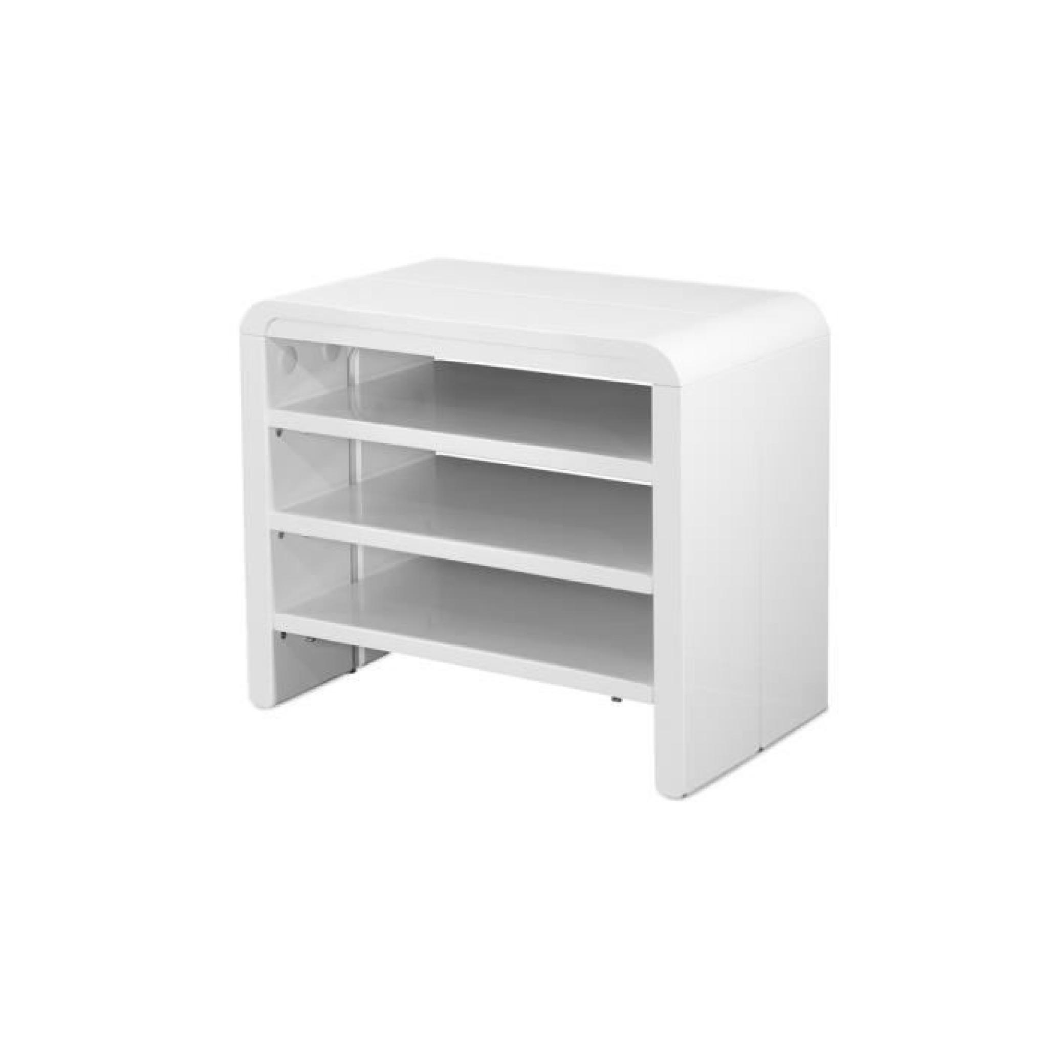 Console extensible Laqué Blanc EXTANSIA