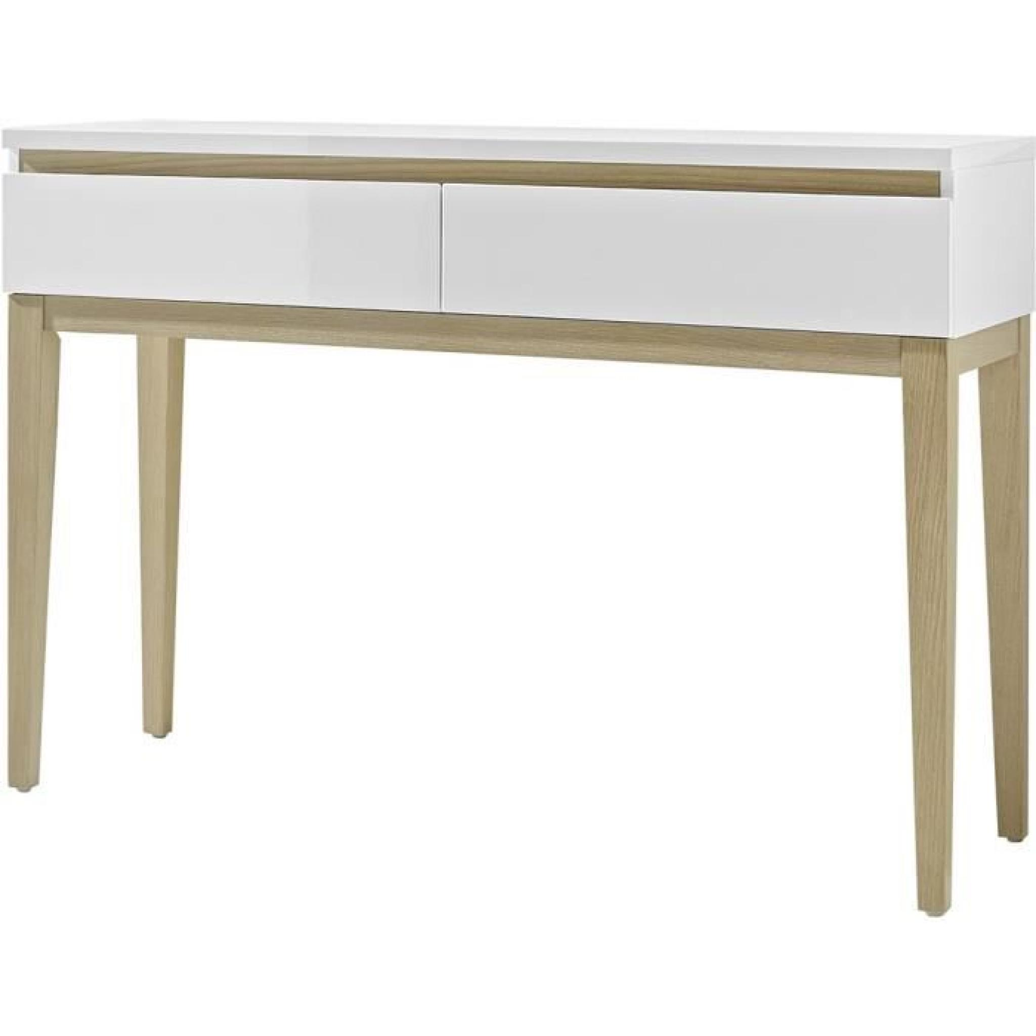 console laque beautiful table console blanche console. Black Bedroom Furniture Sets. Home Design Ideas