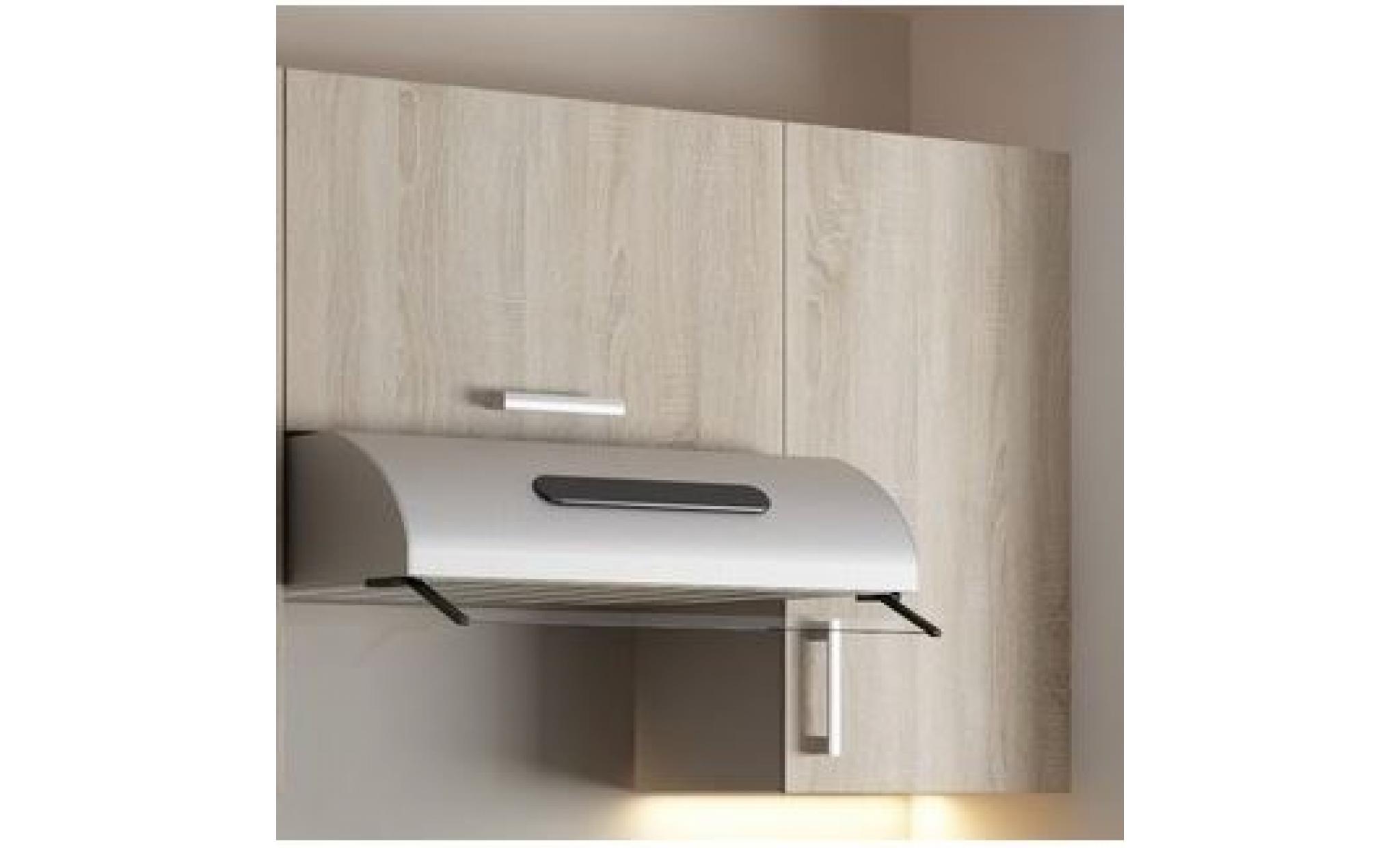 Cuisine compl te agate noyer 1m60 5 meubles achat vente for Cuisine complete design
