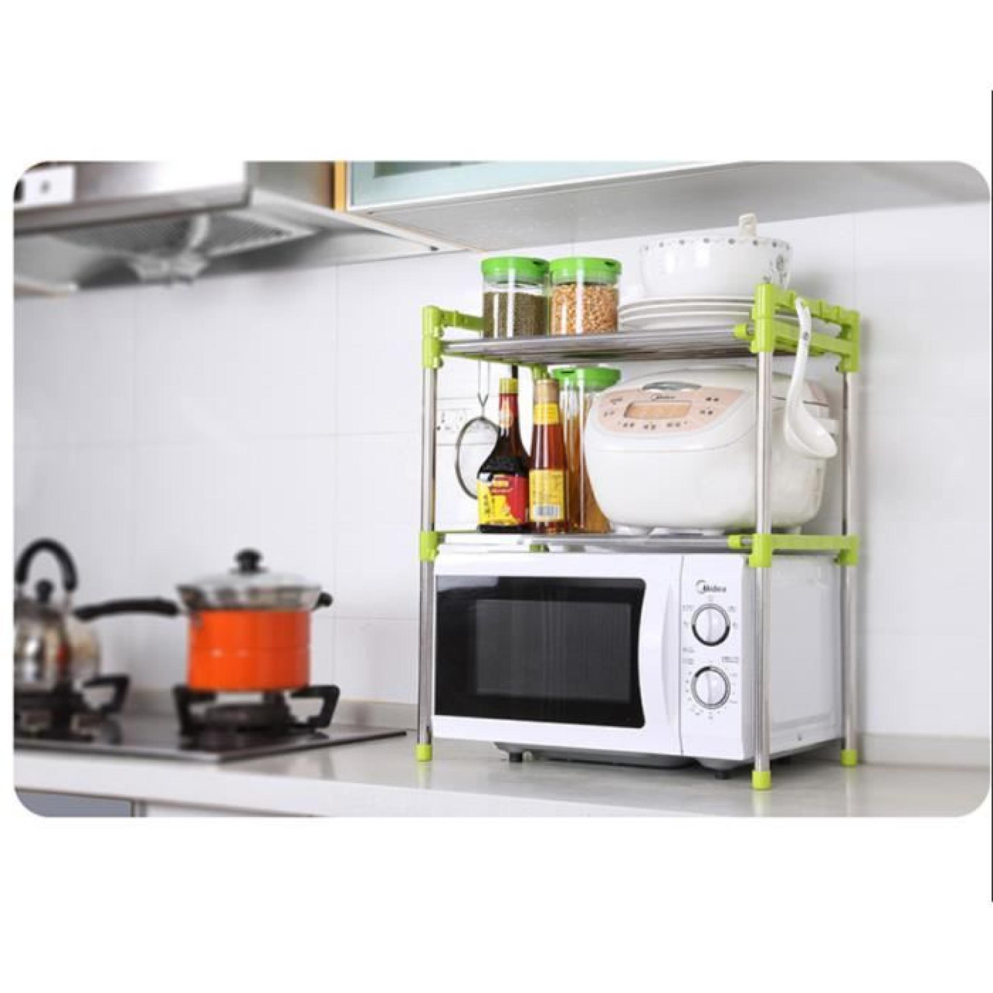 cuisine tag re t lescopique four micro ondes micro ondes plateau de stockage de grille du four. Black Bedroom Furniture Sets. Home Design Ideas