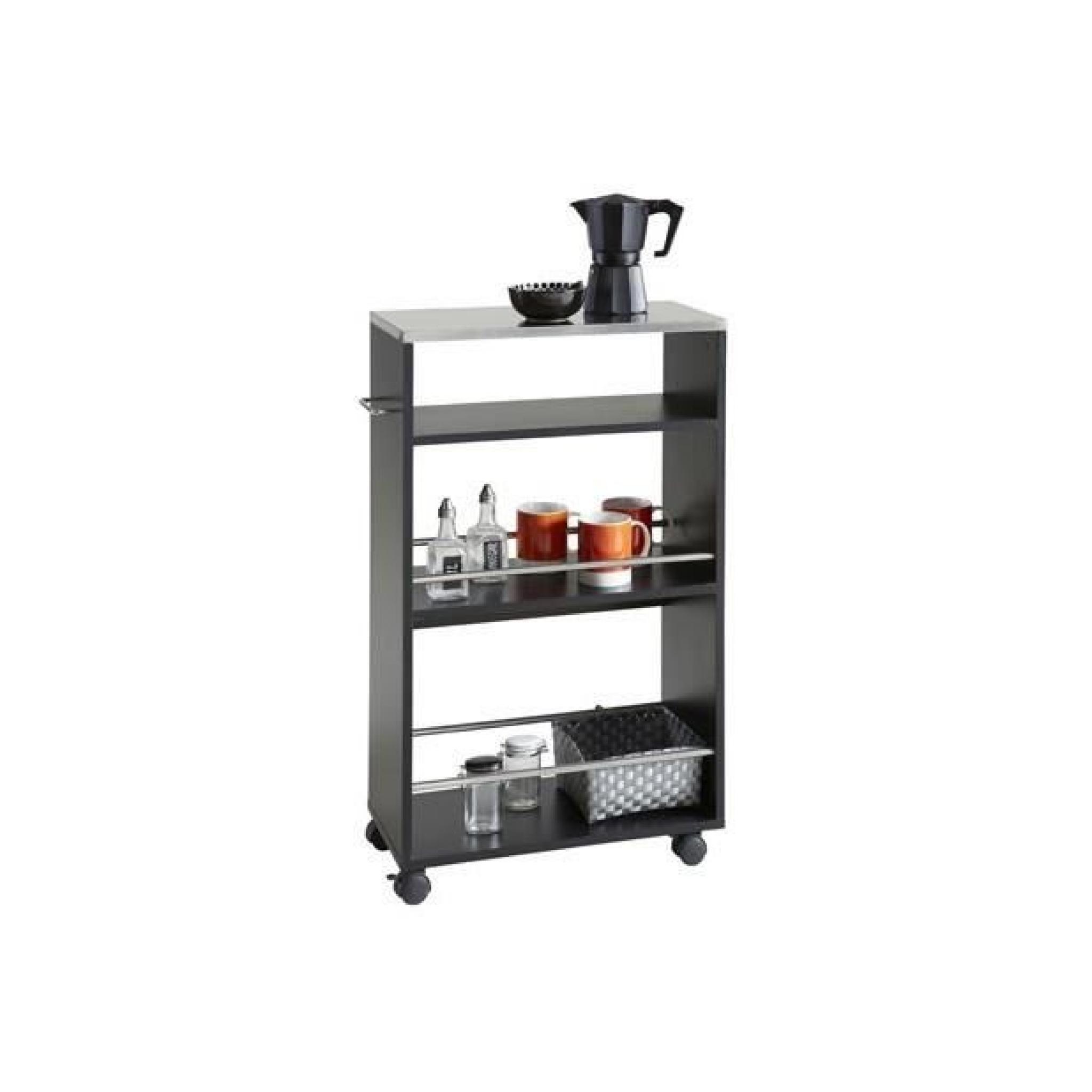 desserte cuisine coffeenoir achat vente desserte de. Black Bedroom Furniture Sets. Home Design Ideas