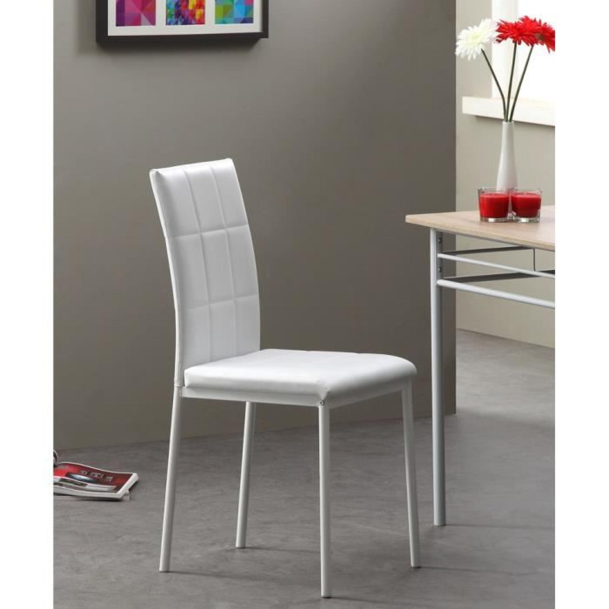 Chaise salle a manger pas cher lot de 4 maison design for Lot de 6 chaise salle a manger