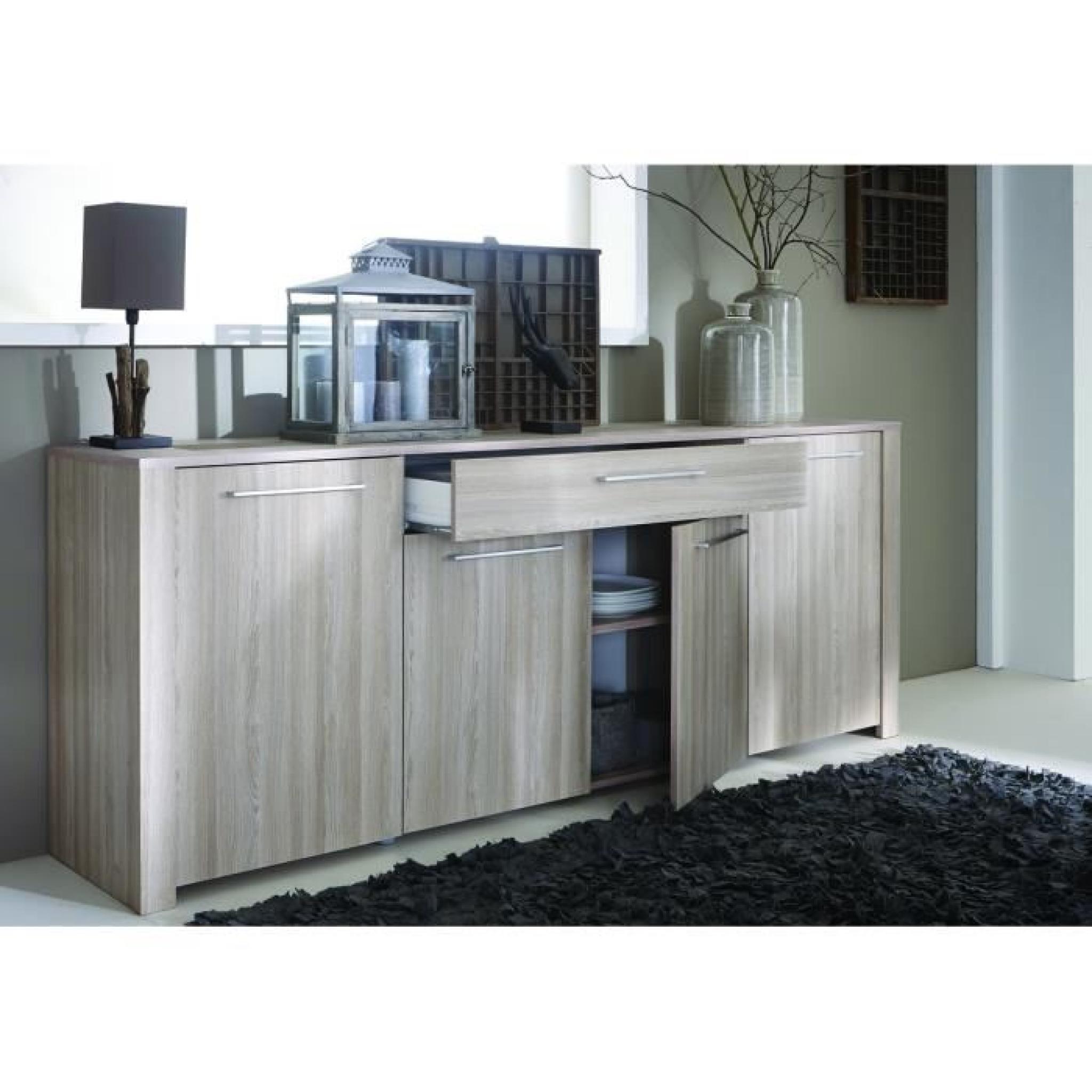 duchess enfilade 216cm 4 portes d cor ch ne shannon et. Black Bedroom Furniture Sets. Home Design Ideas
