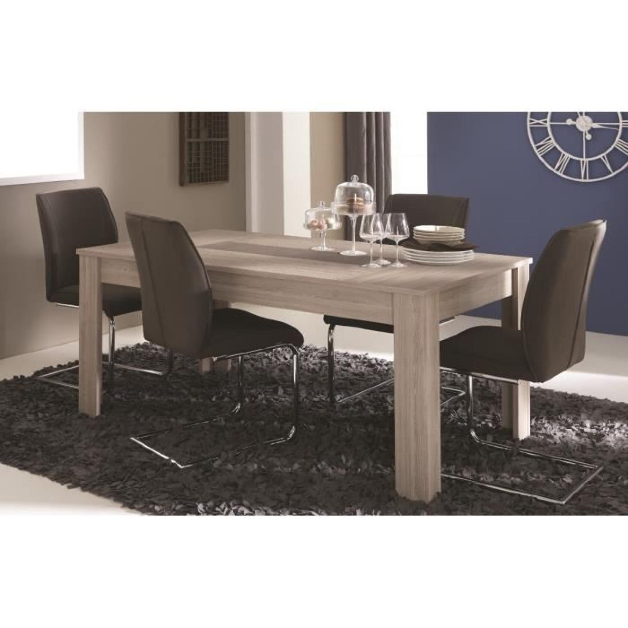 duchess ensemble s jour 3 pi ces 1 enfilade 1 table 1 vitrine d cor ch ne shannon et b ton. Black Bedroom Furniture Sets. Home Design Ideas