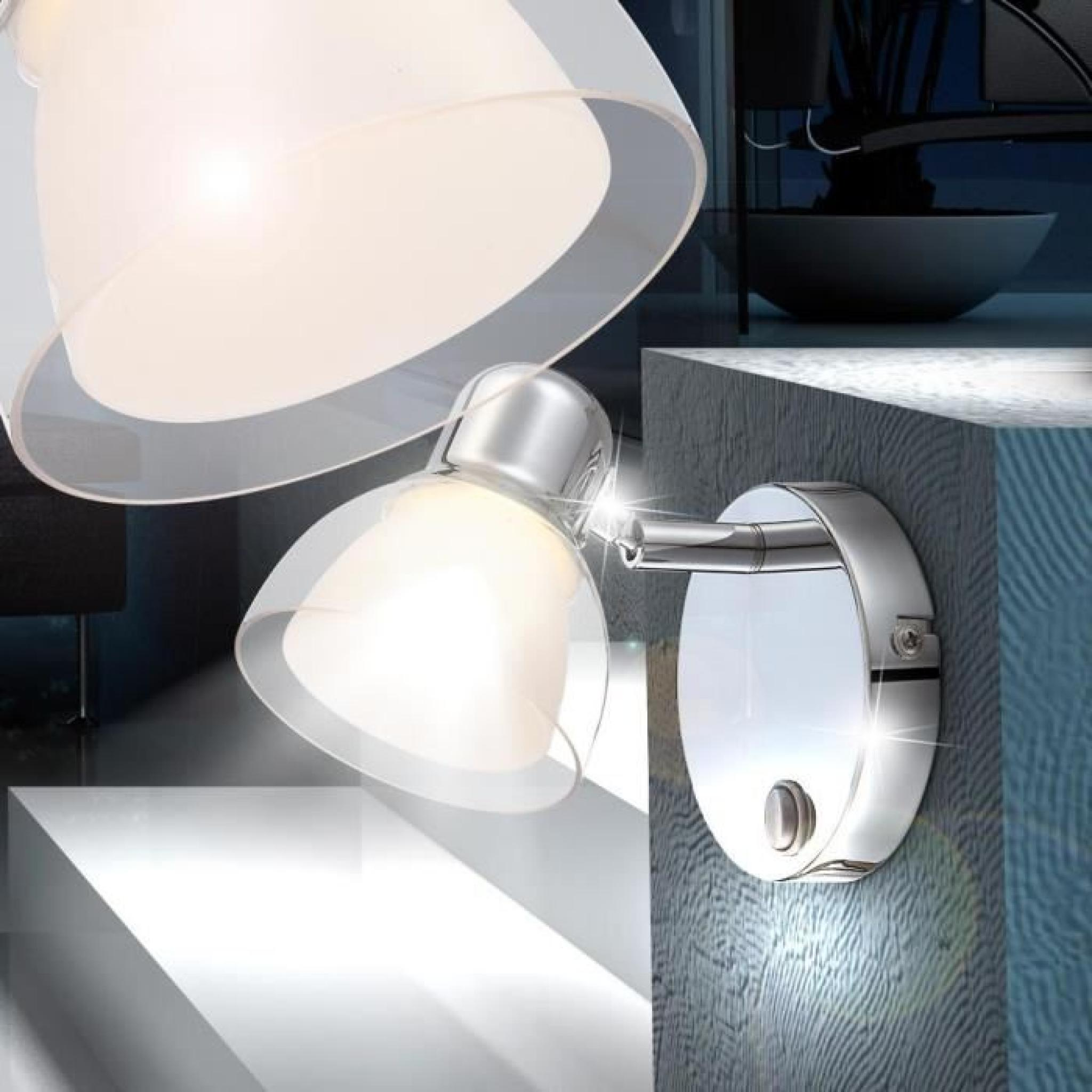 éclairage Applique Del 4 Watts Lampe Spots Mobiles Chrome Luminaire