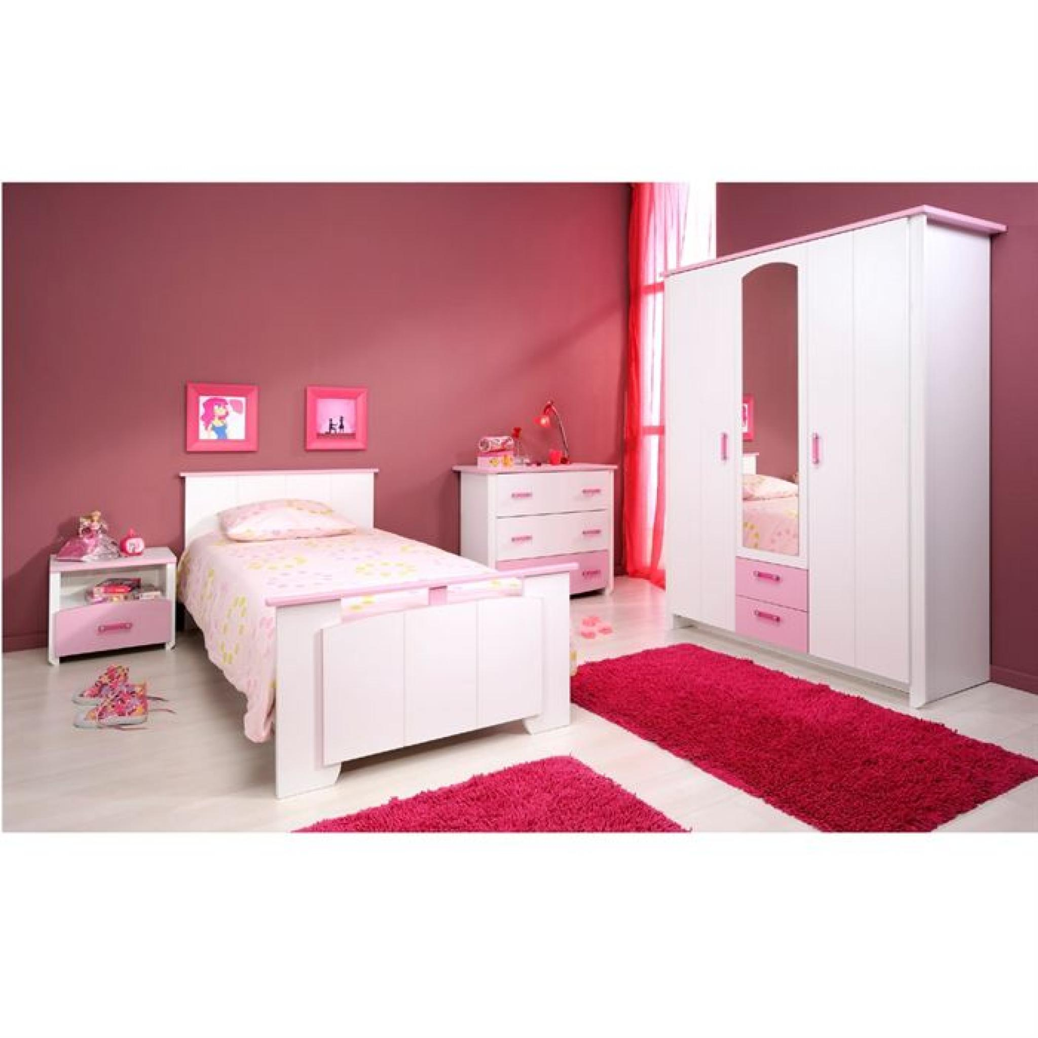 Chambre complete adulte design chambre complte swithome first lit 140x190 1 - Commode chambre adulte design ...