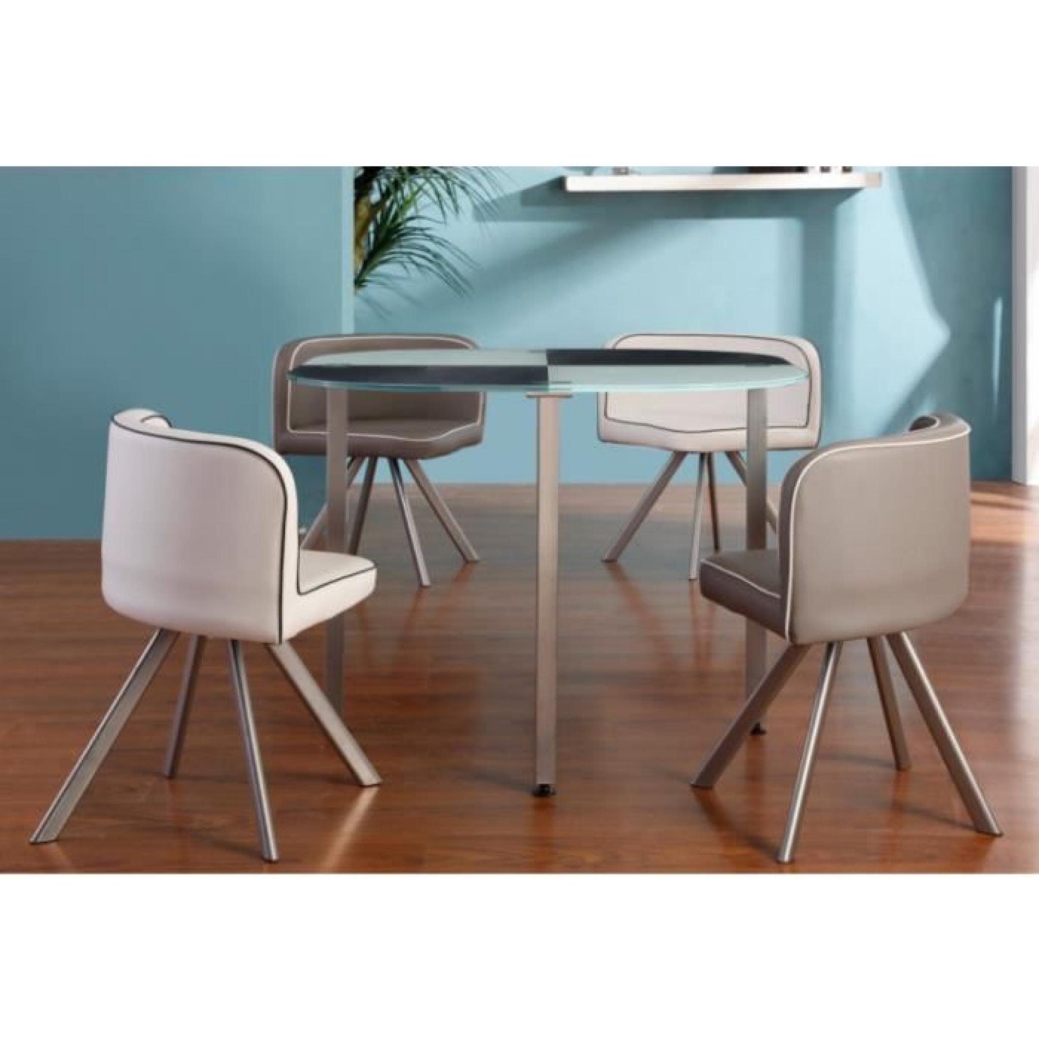 G nial table et chaises pas cher id es de salon de jardin for Table et chaise design pas cher