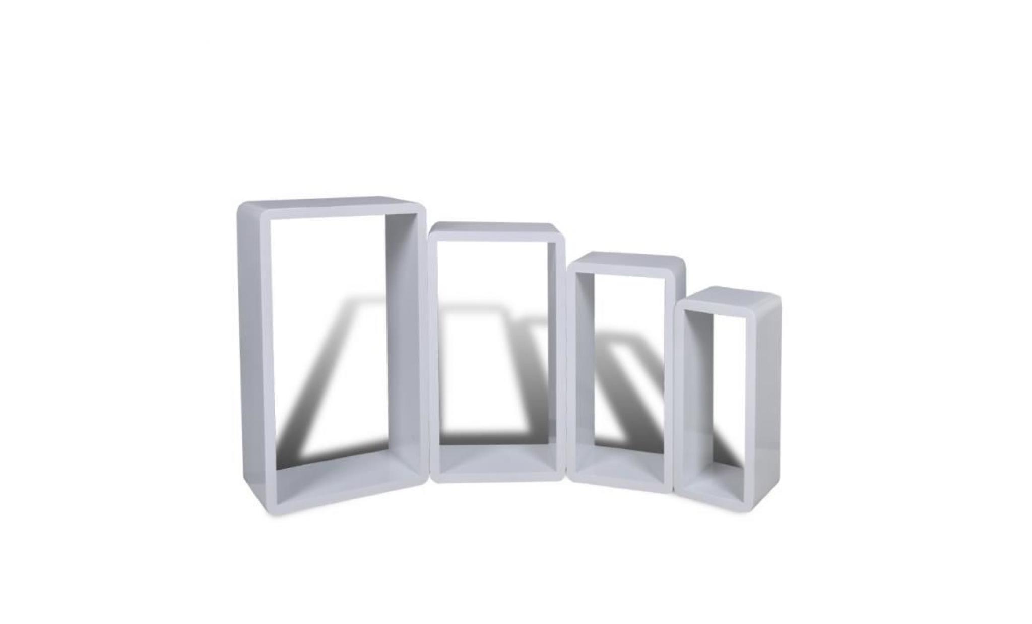 etagres design murale cubes blanc pas cher with etagere design murale pas cher. Black Bedroom Furniture Sets. Home Design Ideas