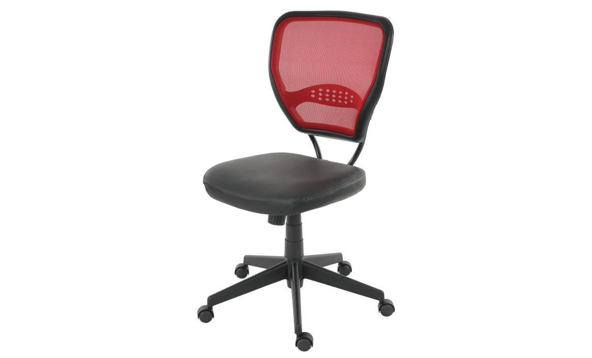 fauteuil chaise de bureau seattle charge 150kg pu gris sans accoudoirs achat vente. Black Bedroom Furniture Sets. Home Design Ideas