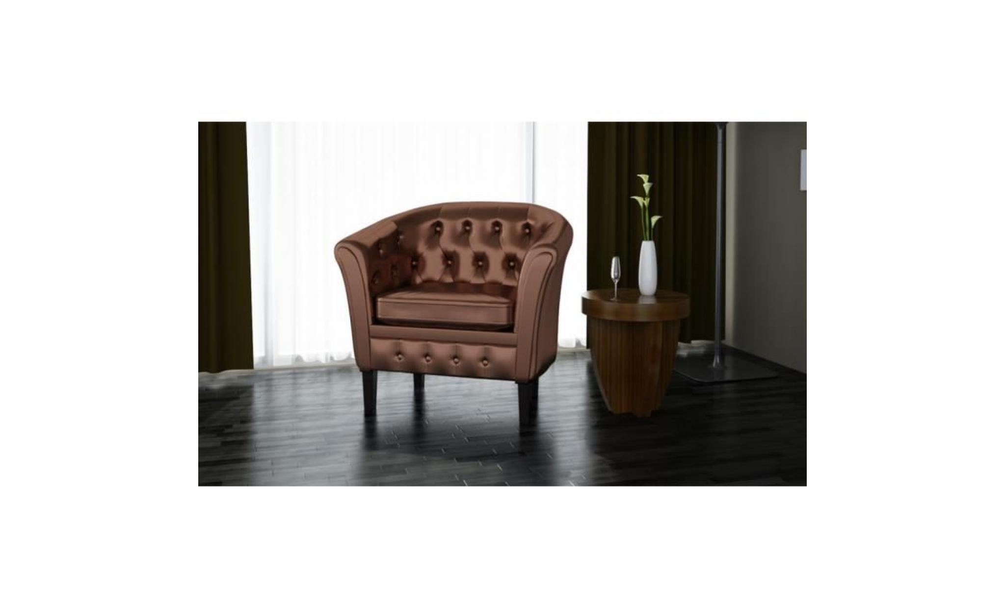 fauteuil chesterfield bronze achat vente fauteuil pas cher couleur et. Black Bedroom Furniture Sets. Home Design Ideas