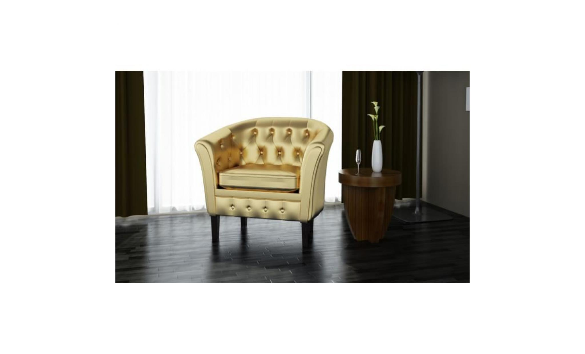fauteuil chesterfield or achat vente fauteuil pas cher. Black Bedroom Furniture Sets. Home Design Ideas