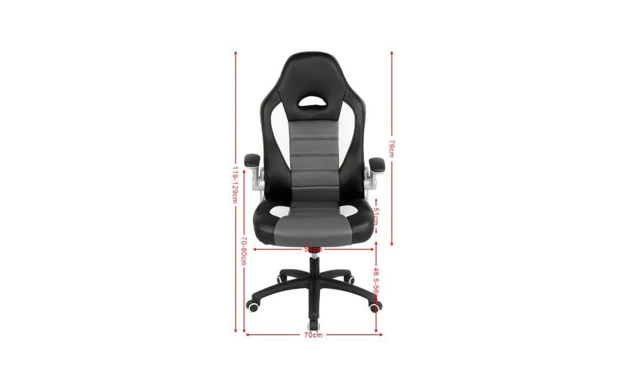 de 129cmbonachat 119 bureau regable hauteur fauteuil L45jAR