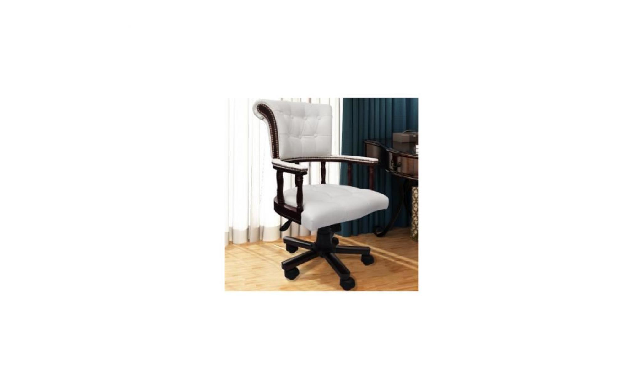 fauteuil en cuir m lang achat vente fauteuil pas cher couleur et. Black Bedroom Furniture Sets. Home Design Ideas
