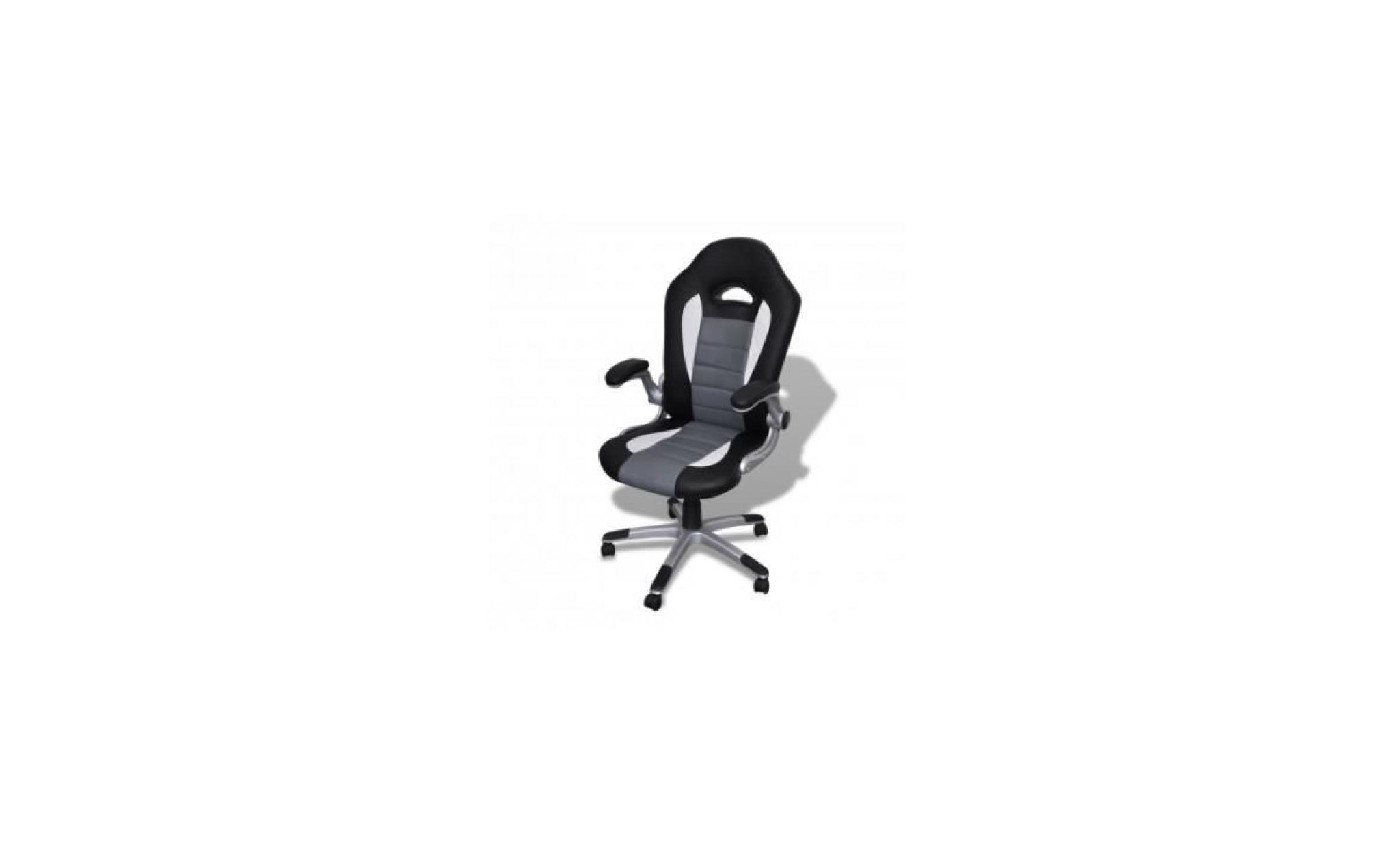 fauteuil en pu moderne achat vente fauteuil de bureau pas cher couleur et. Black Bedroom Furniture Sets. Home Design Ideas