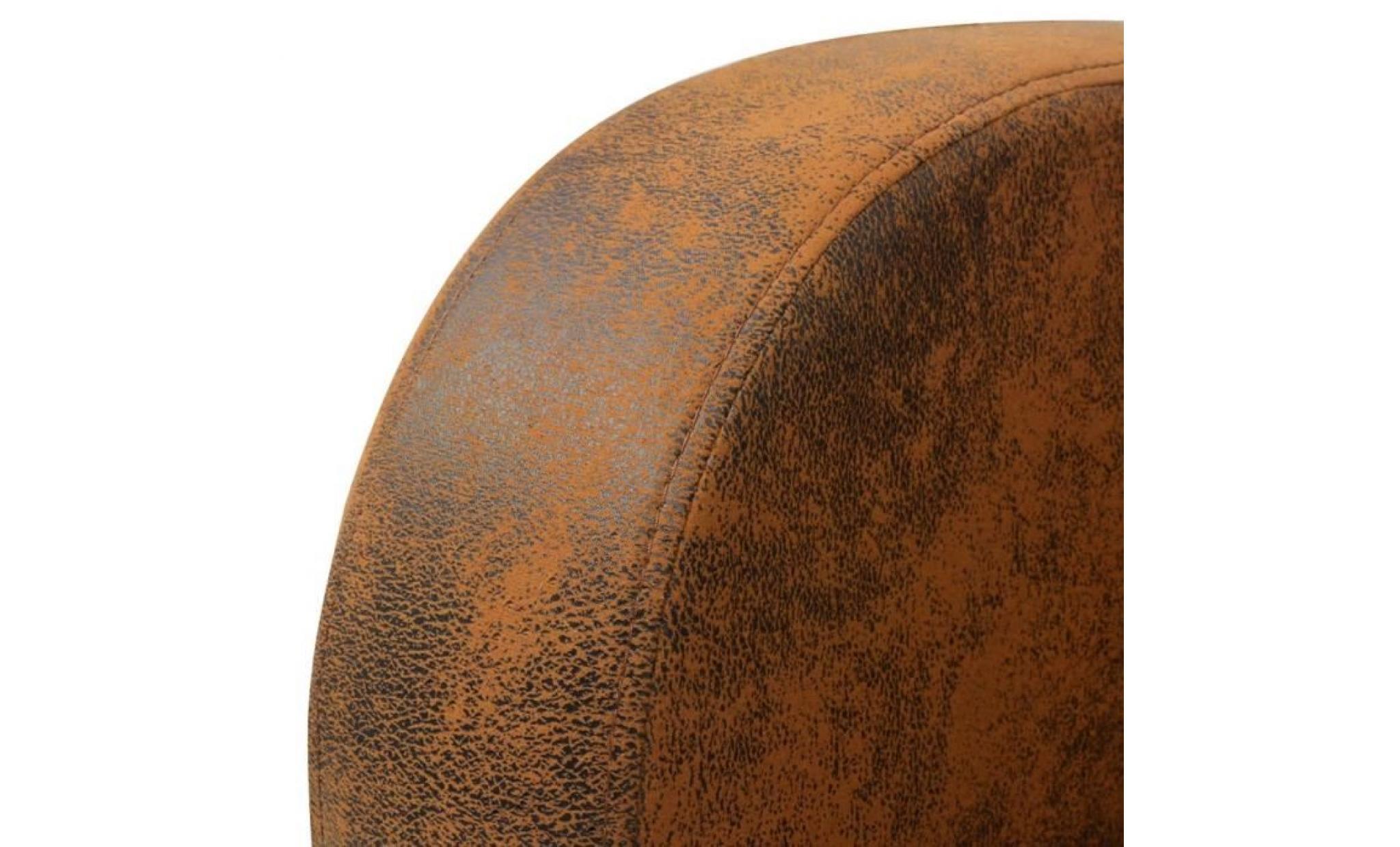 fauteuil marron 73 x 72 x 76 cm