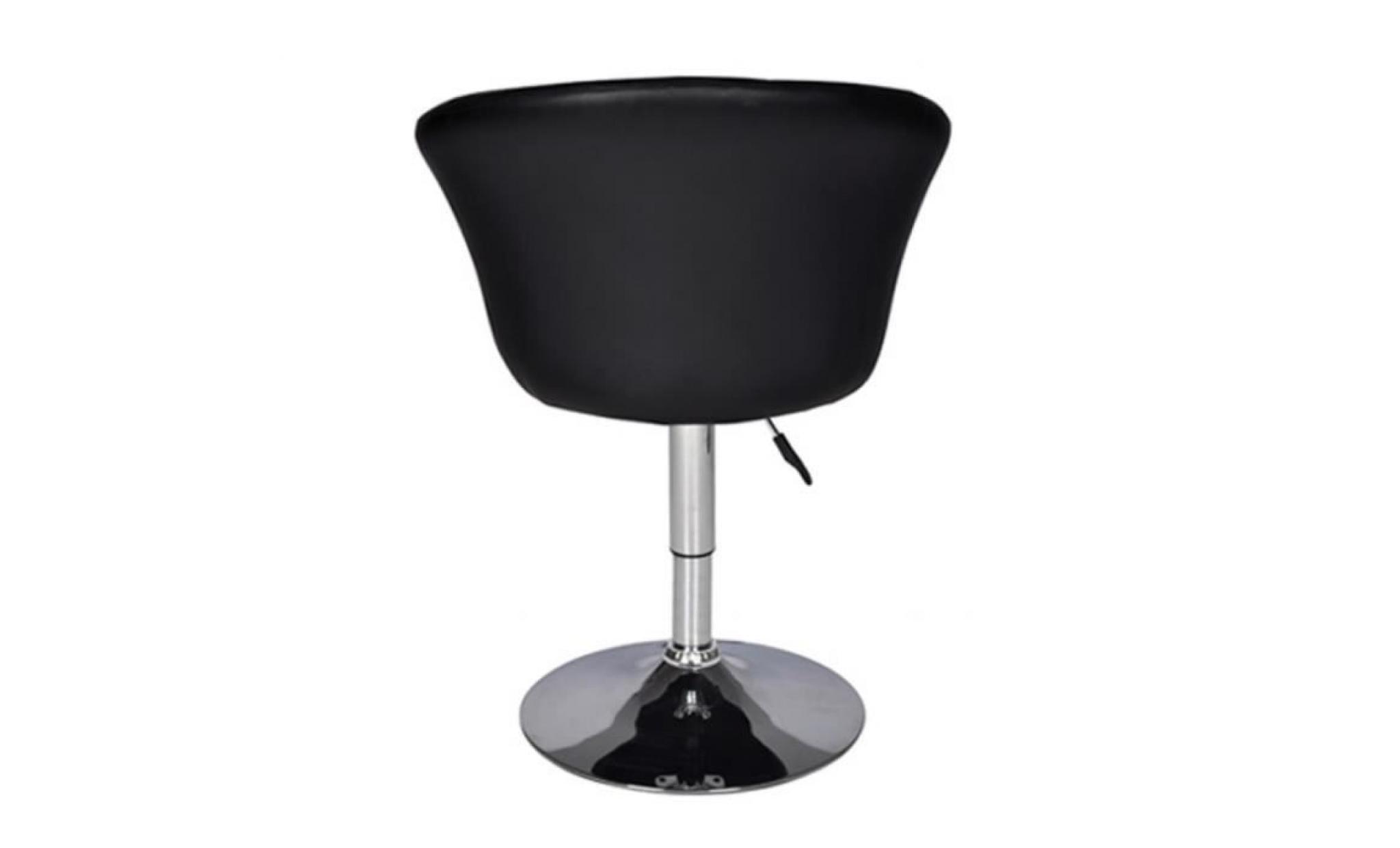 fauteuil pivotant rond odyssey achat vente tabouret de bar pas cher couleur et. Black Bedroom Furniture Sets. Home Design Ideas
