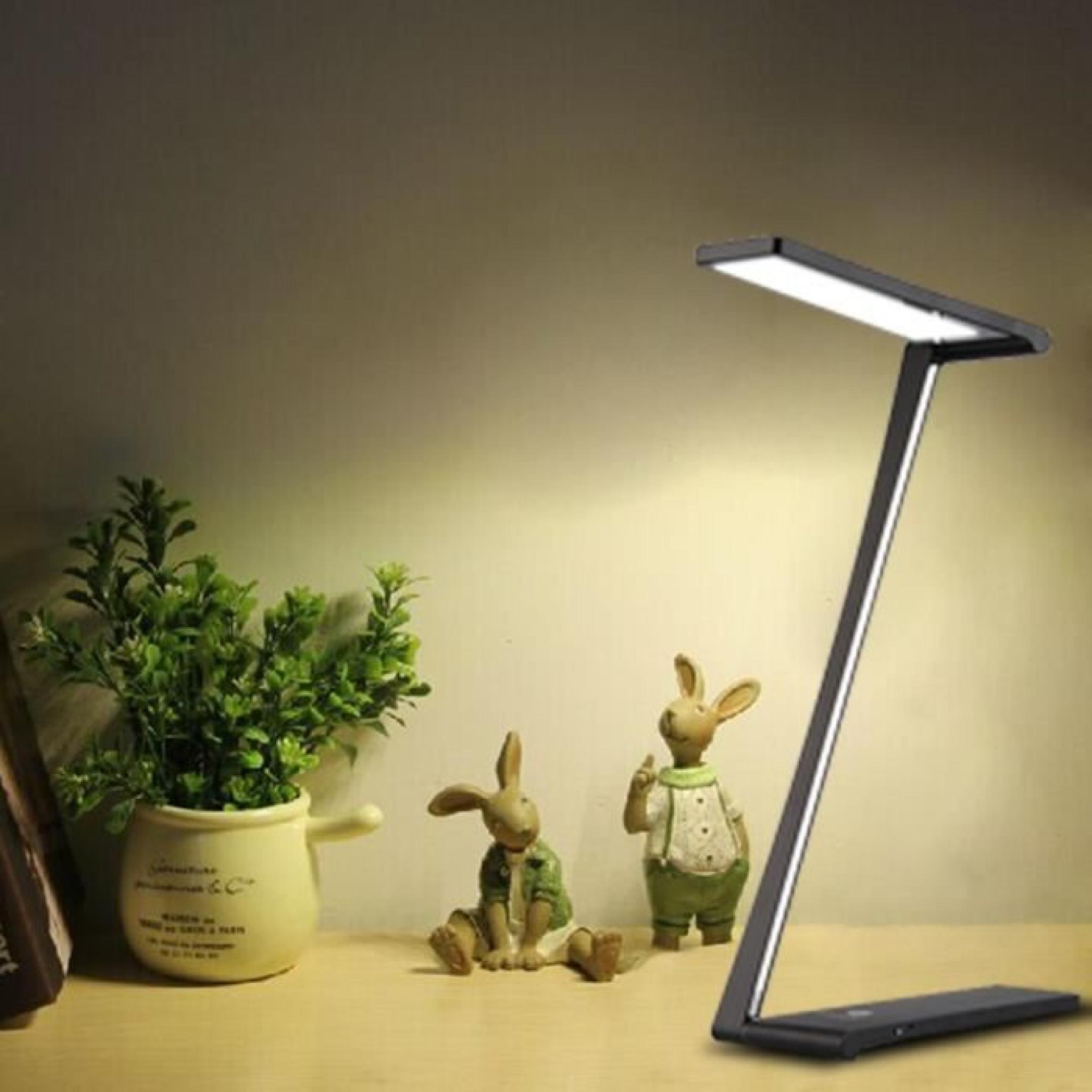 Mince Table 6w Lampe Induction Tactile Chargement Rouge De Ultra Led Usb Pliable Moderne Floureon Samsung 0kPwnO