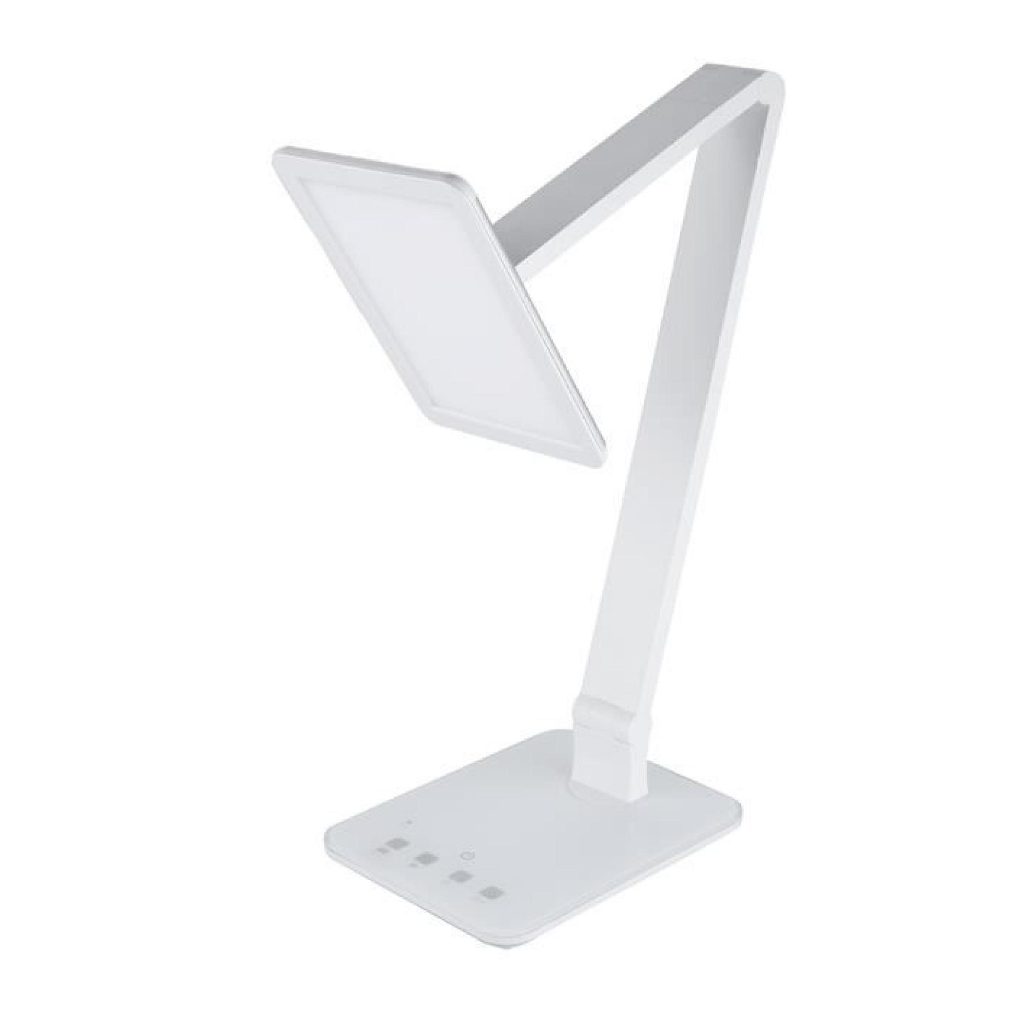 Led Table Bureau Tactile Usb Floureon Lampe Blanc De Recharge Contrôles DHYW9I2E