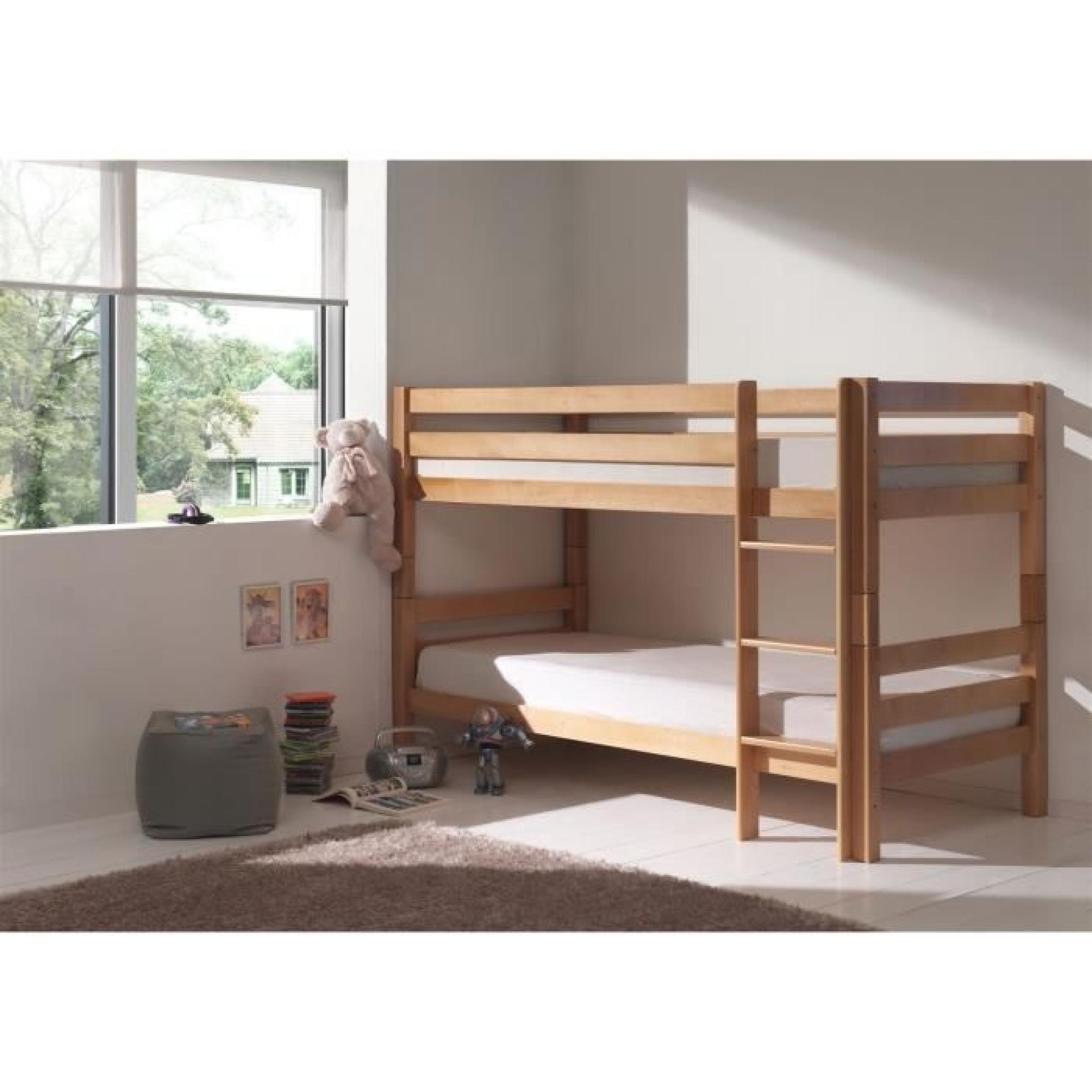 forrest lit enfant superpos 140cm h tre massif achat vente lit superpose pas cher couleur. Black Bedroom Furniture Sets. Home Design Ideas
