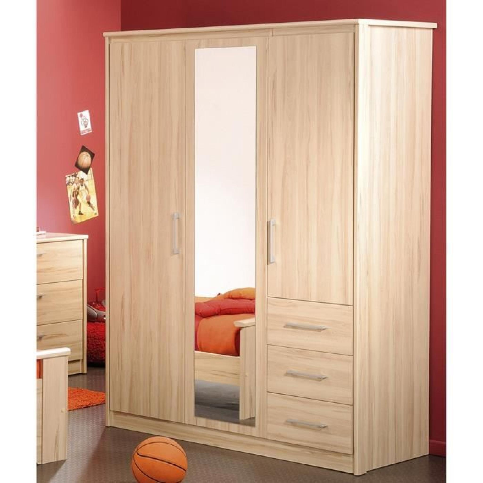 armoire rouge enfant perfect surprenant armoire enfant conforama portes tiroirs atelier rouge. Black Bedroom Furniture Sets. Home Design Ideas