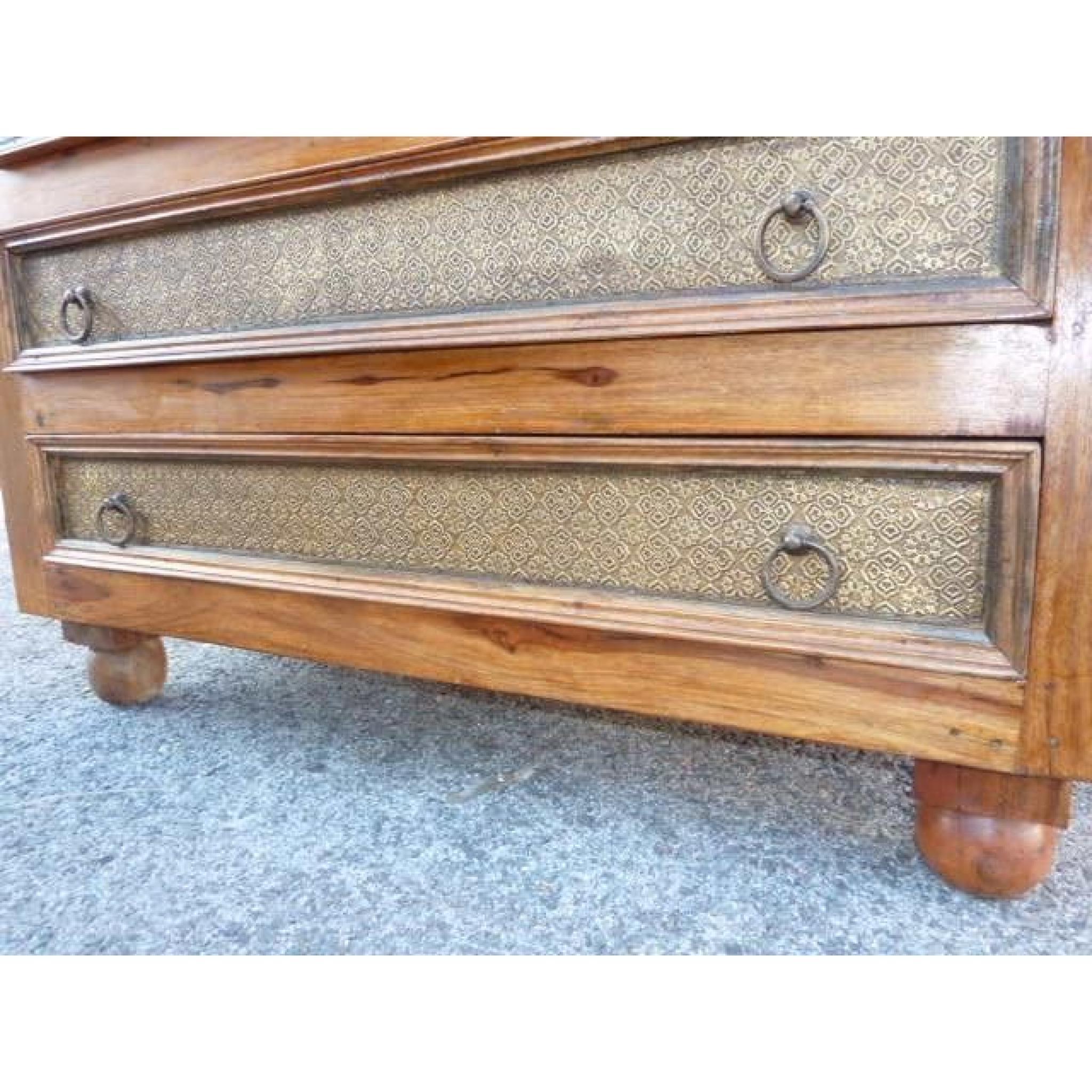 grande commode 8 tiroirs claire achat vente commode pas cher couleur et. Black Bedroom Furniture Sets. Home Design Ideas