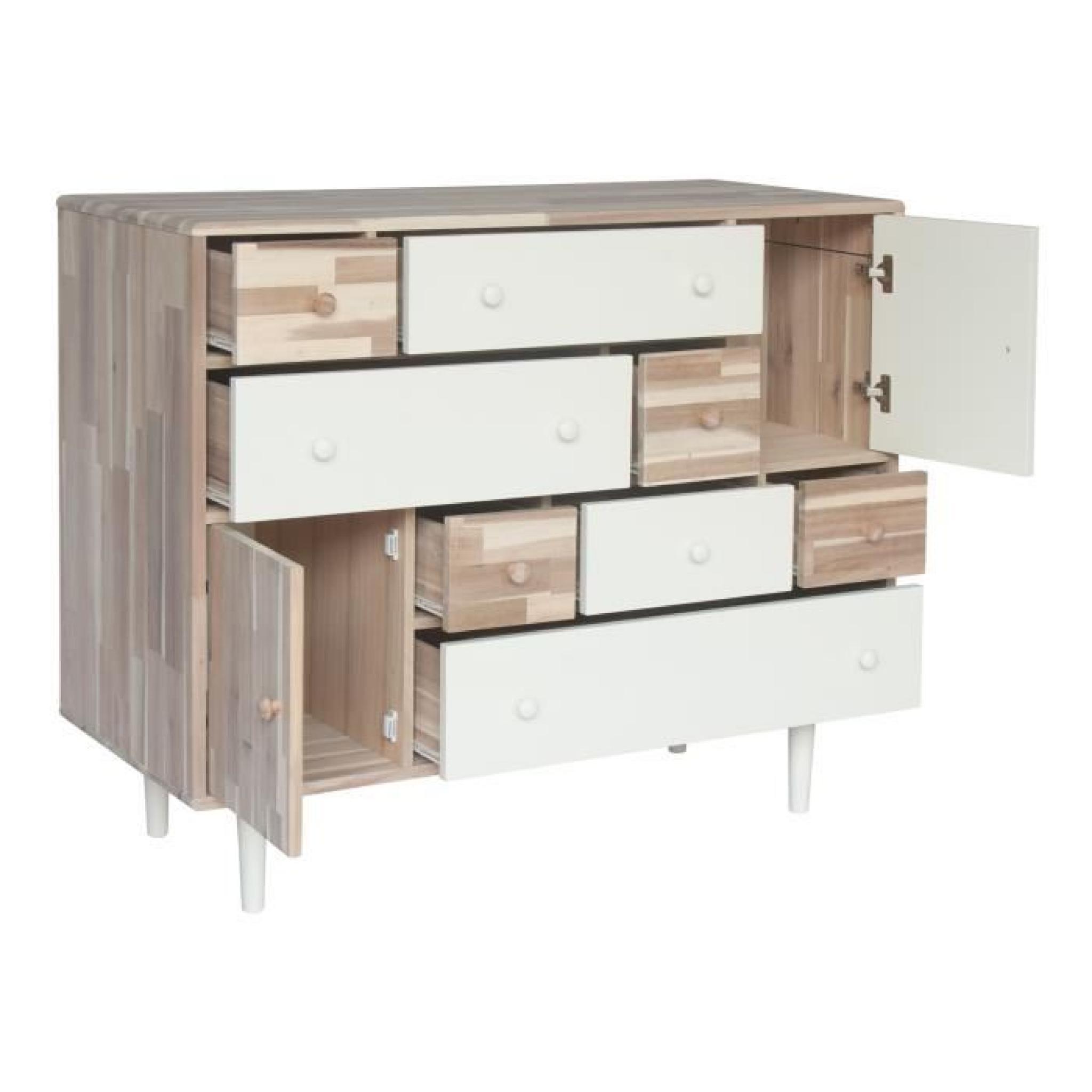 commode laquee blanche avec tiroirs rabattables meubles de design d 39 inspiration. Black Bedroom Furniture Sets. Home Design Ideas