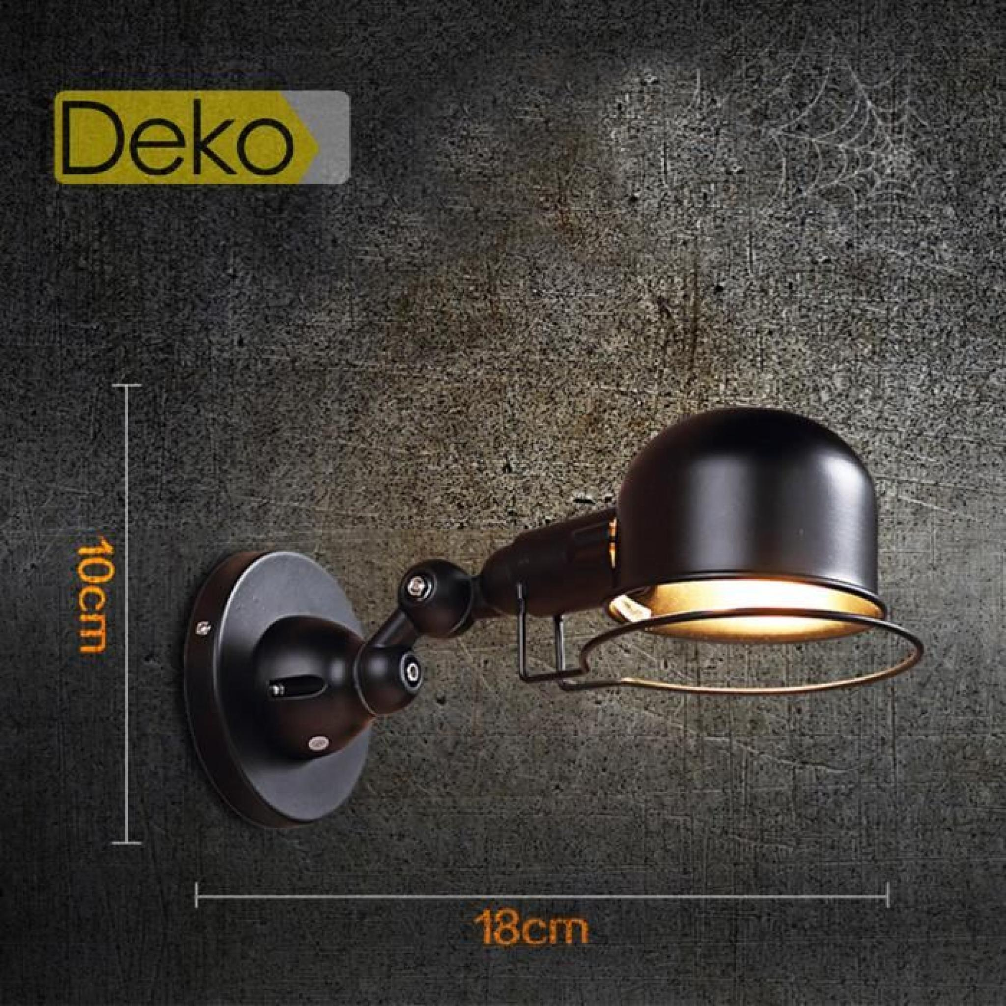 Bois Plafonnier Bureau Antique Lampe Table Hau Ideko® En Projecteur Bronzé Chevet De Salon Art Industriel Jardin Design Unique kPN8nOZ0wX