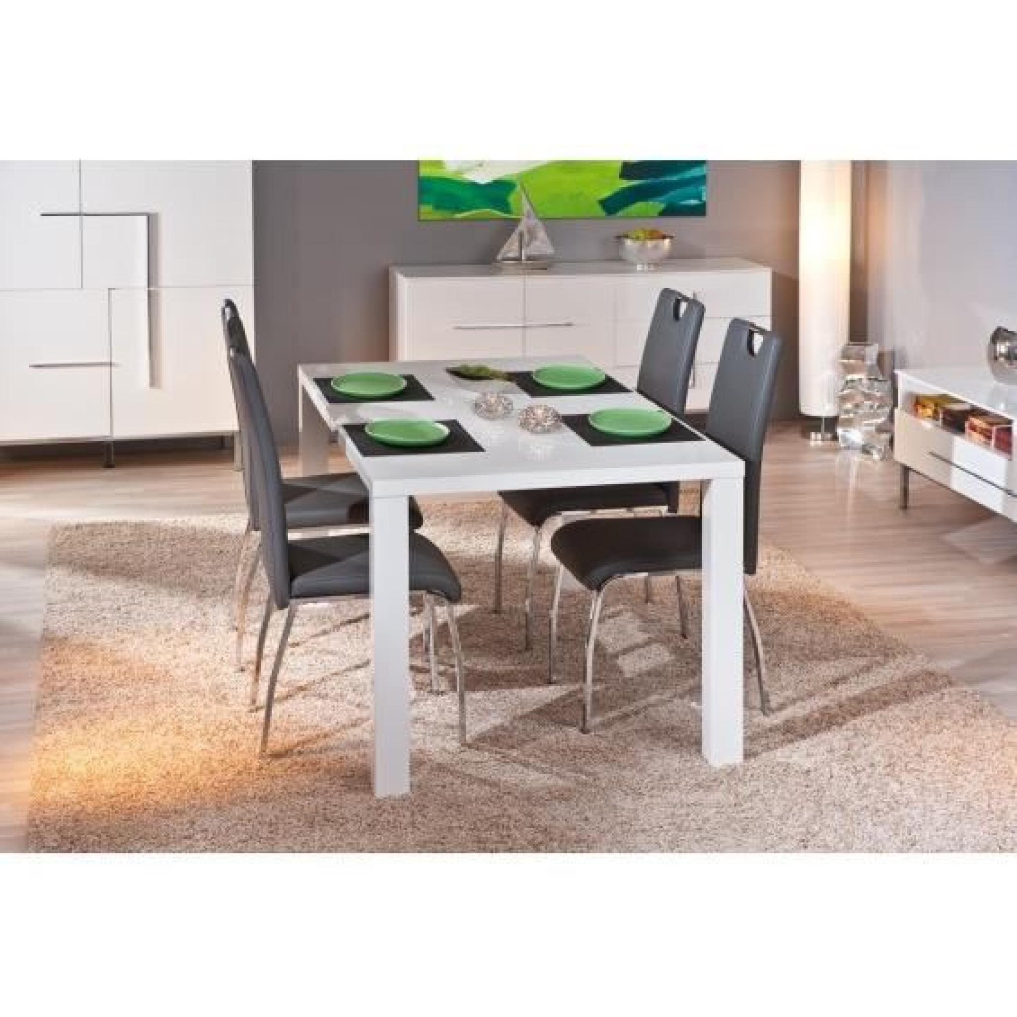 irma table 4 pieds avec allonge achat vente table. Black Bedroom Furniture Sets. Home Design Ideas