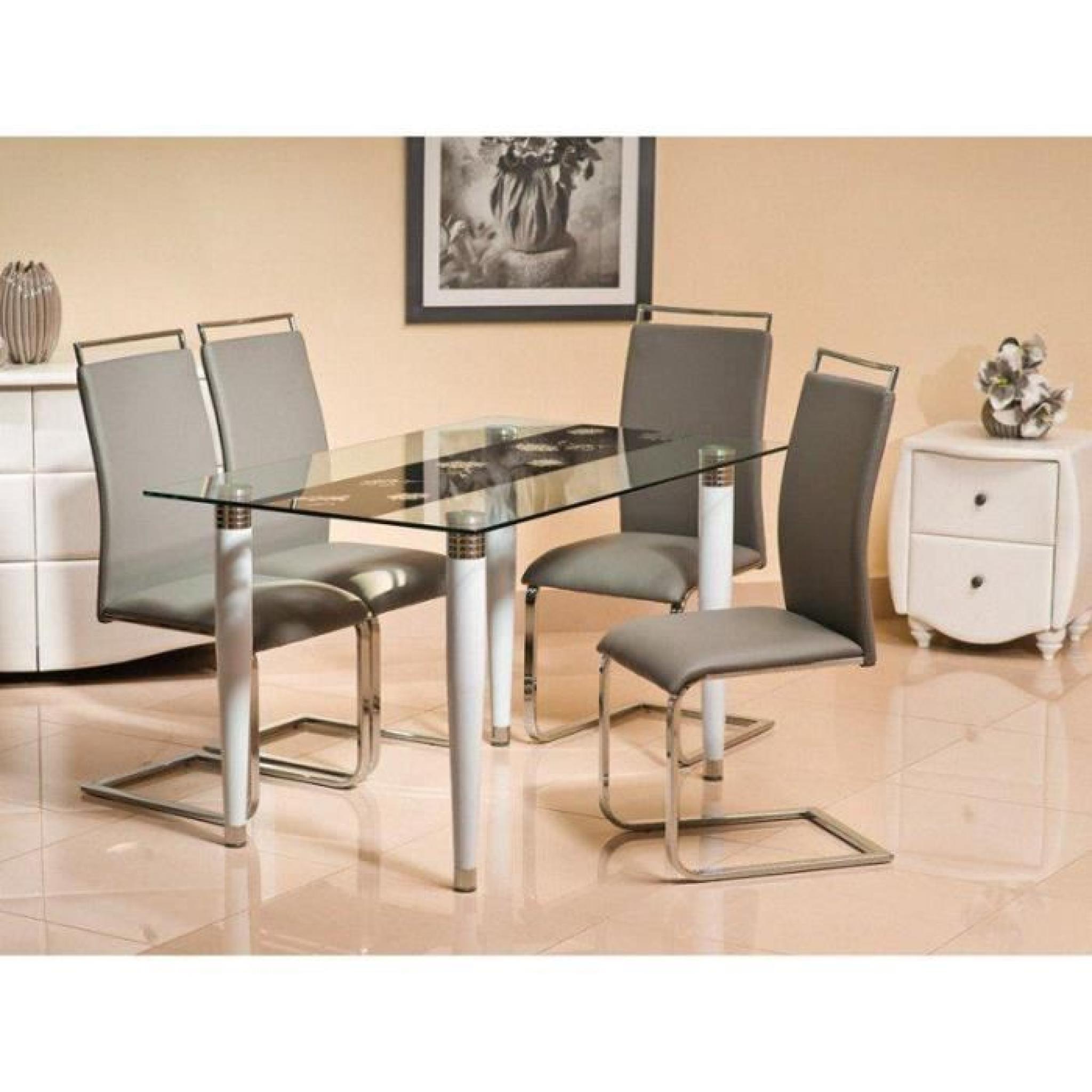 #91633A JUSThome Conti Table De Salle à Manger Verre 75 X 80 X 130  4065 table salle a manger design pas chere 2048x2048 px @ aertt.com