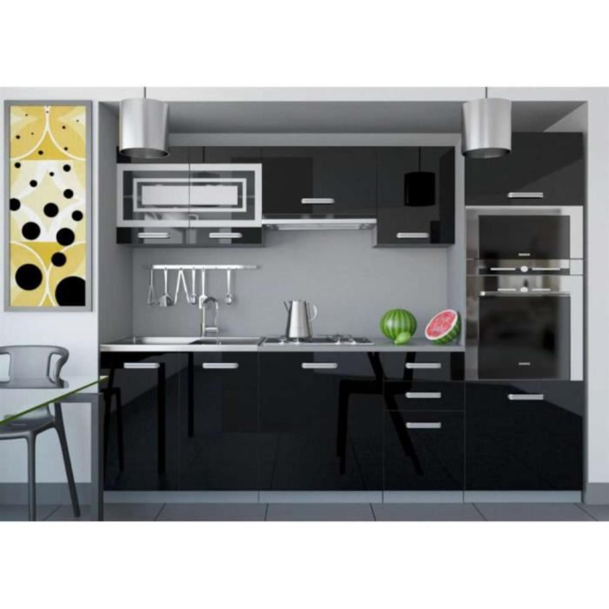 justhome paula 1 cuisine quip e compl te 240 cm couleur. Black Bedroom Furniture Sets. Home Design Ideas