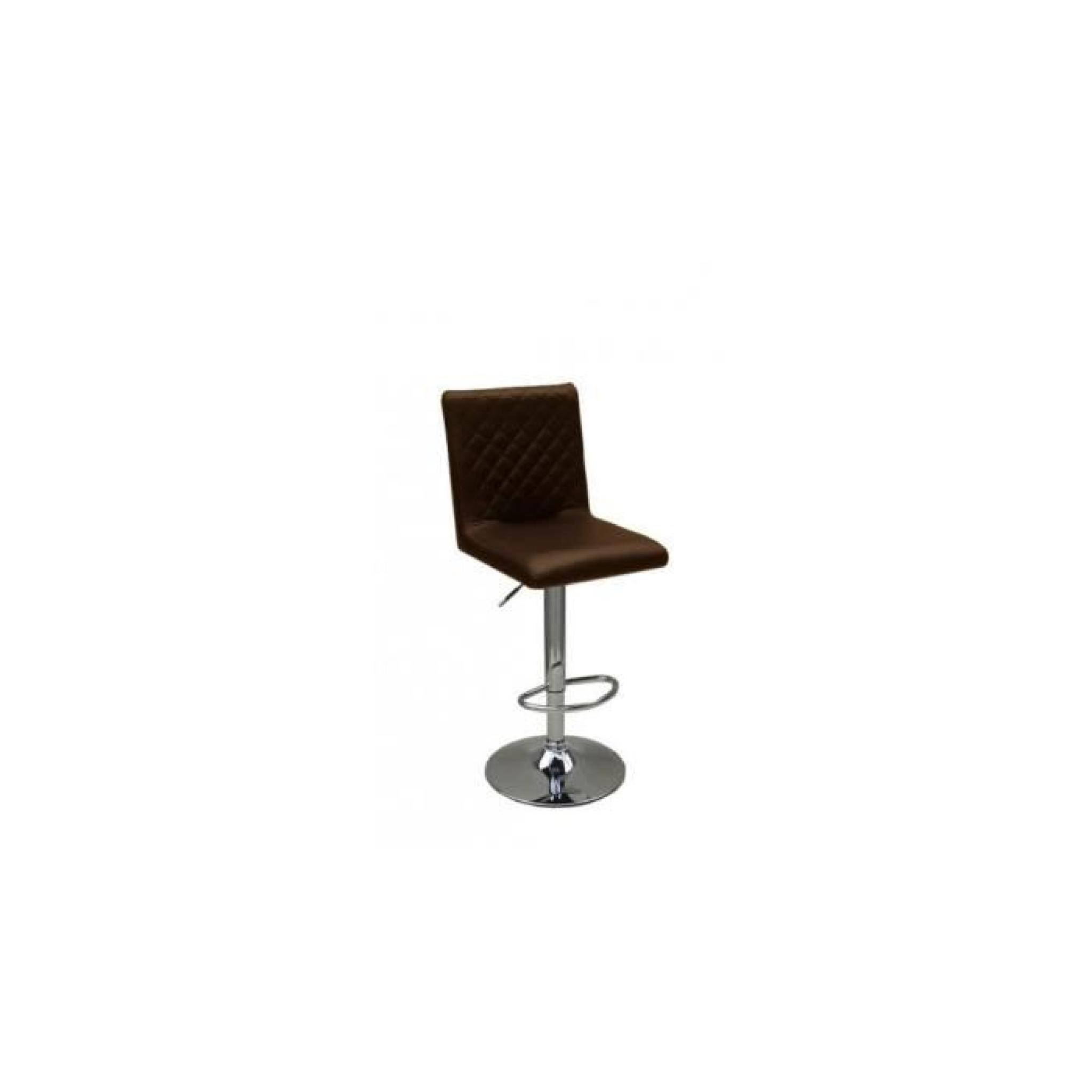 justhome tabouret de bar hc 1145 couleur chocolat. Black Bedroom Furniture Sets. Home Design Ideas