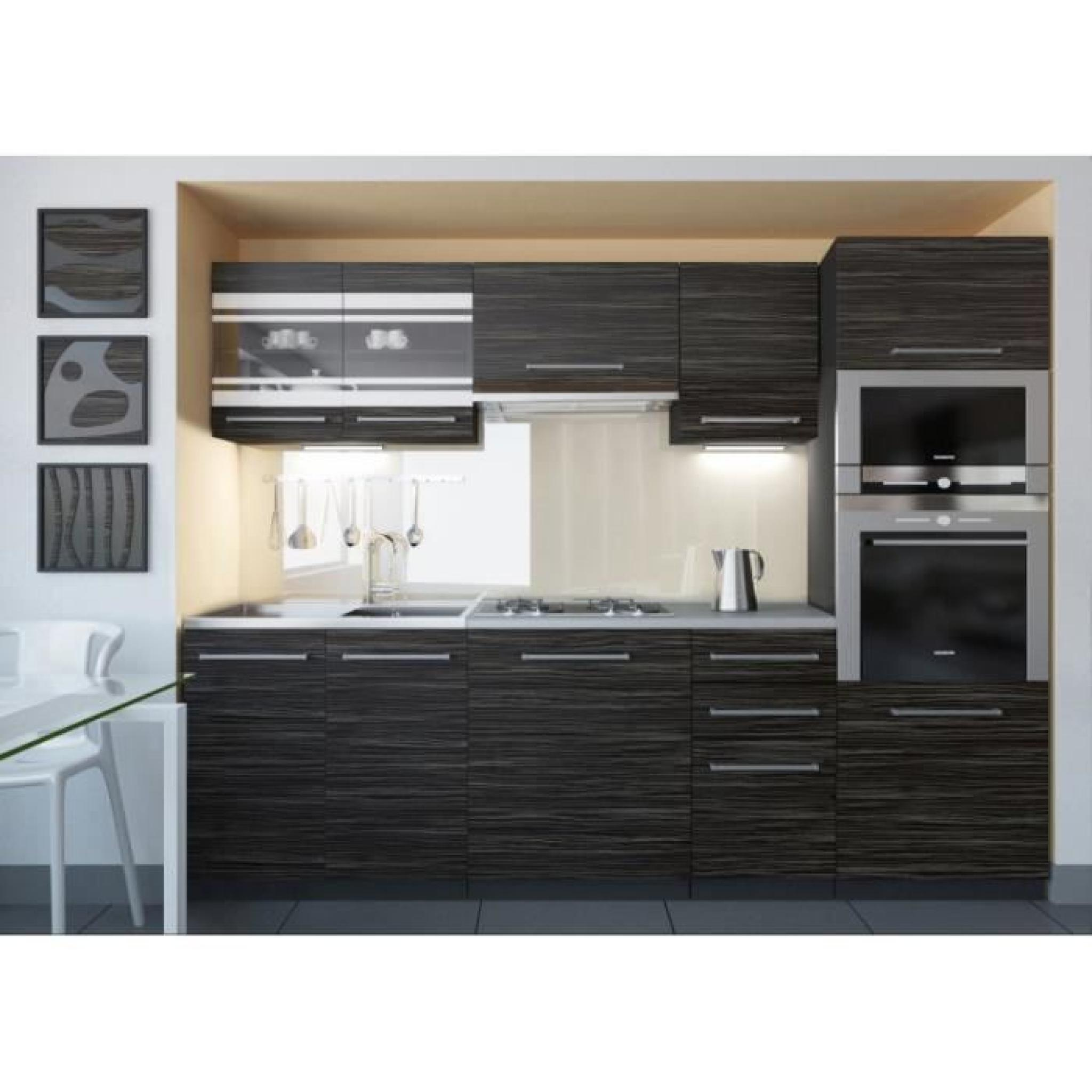 justhome torino 2 led cuisine quip e compl te 240 cm mod le de poign e 2 achat vente cuisine. Black Bedroom Furniture Sets. Home Design Ideas