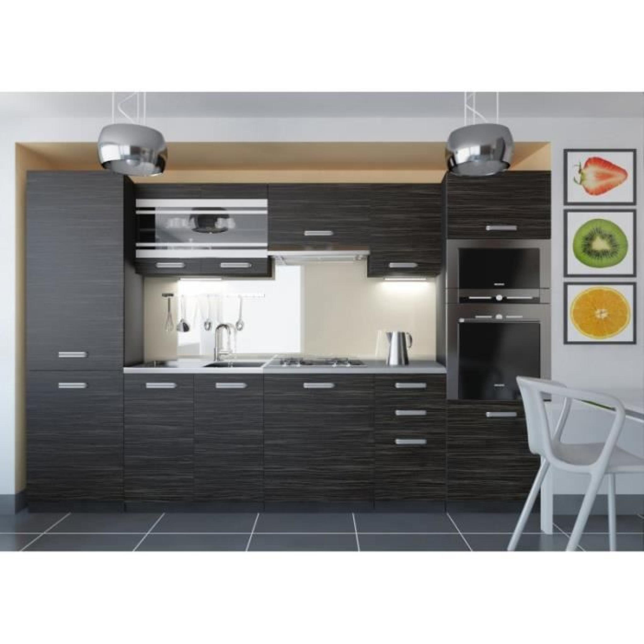 justhome torino 5 led cuisine quip e compl te 300 cm mod le de poign e 1 achat vente cuisine. Black Bedroom Furniture Sets. Home Design Ideas