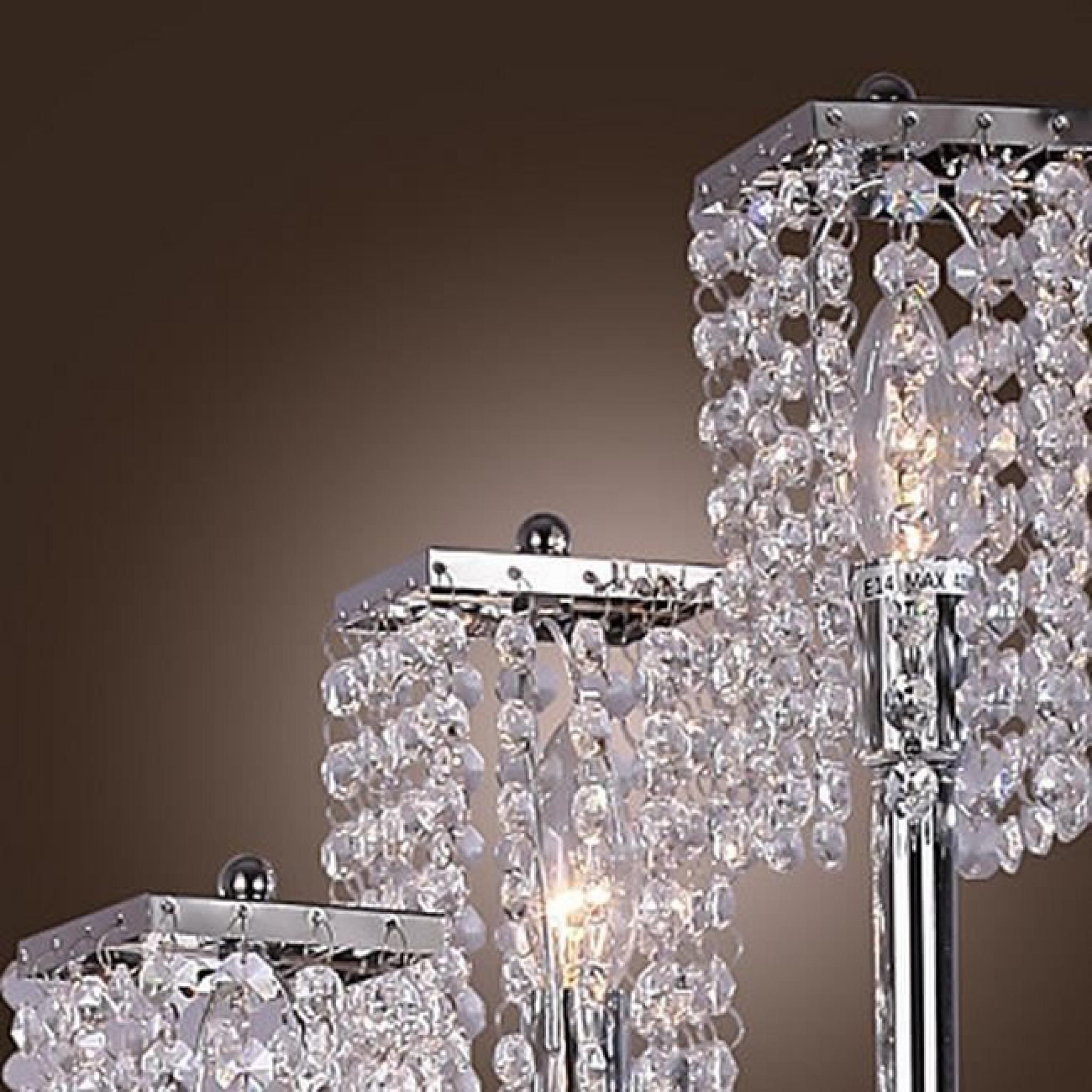lampadaire en cristal tu achat vente lampadaire pas cher. Black Bedroom Furniture Sets. Home Design Ideas