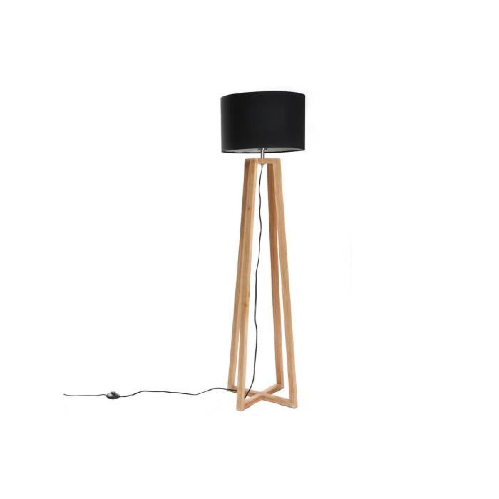 lampadaire scandinave noir norda achat vente lampadaire. Black Bedroom Furniture Sets. Home Design Ideas