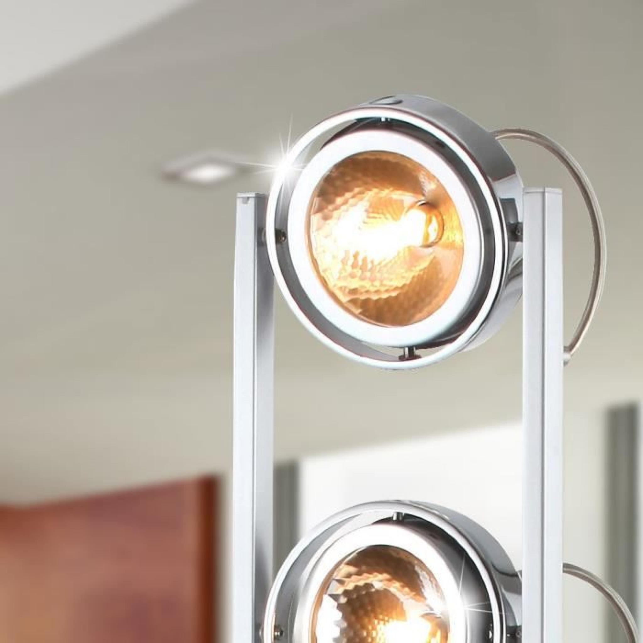 lampadaire spots lampe eclairage lumiere g9 globo 3 5 Inspirant Lampe Eclairage Uqw1