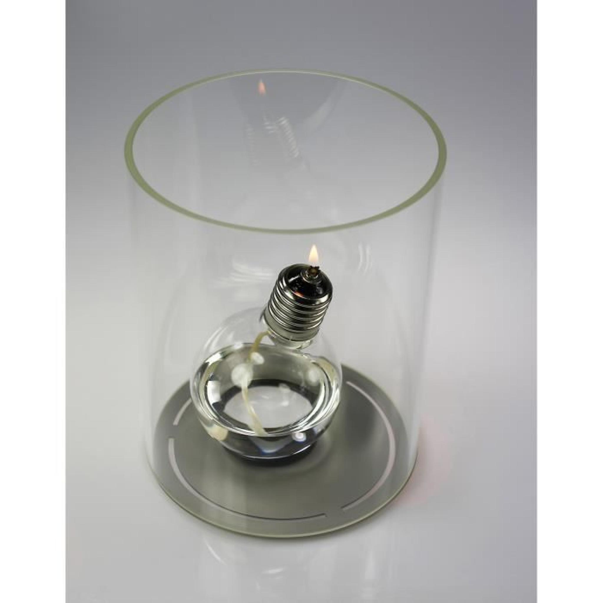 lampe ampoule huile konfuzilux set 20 x 25 cm achat. Black Bedroom Furniture Sets. Home Design Ideas